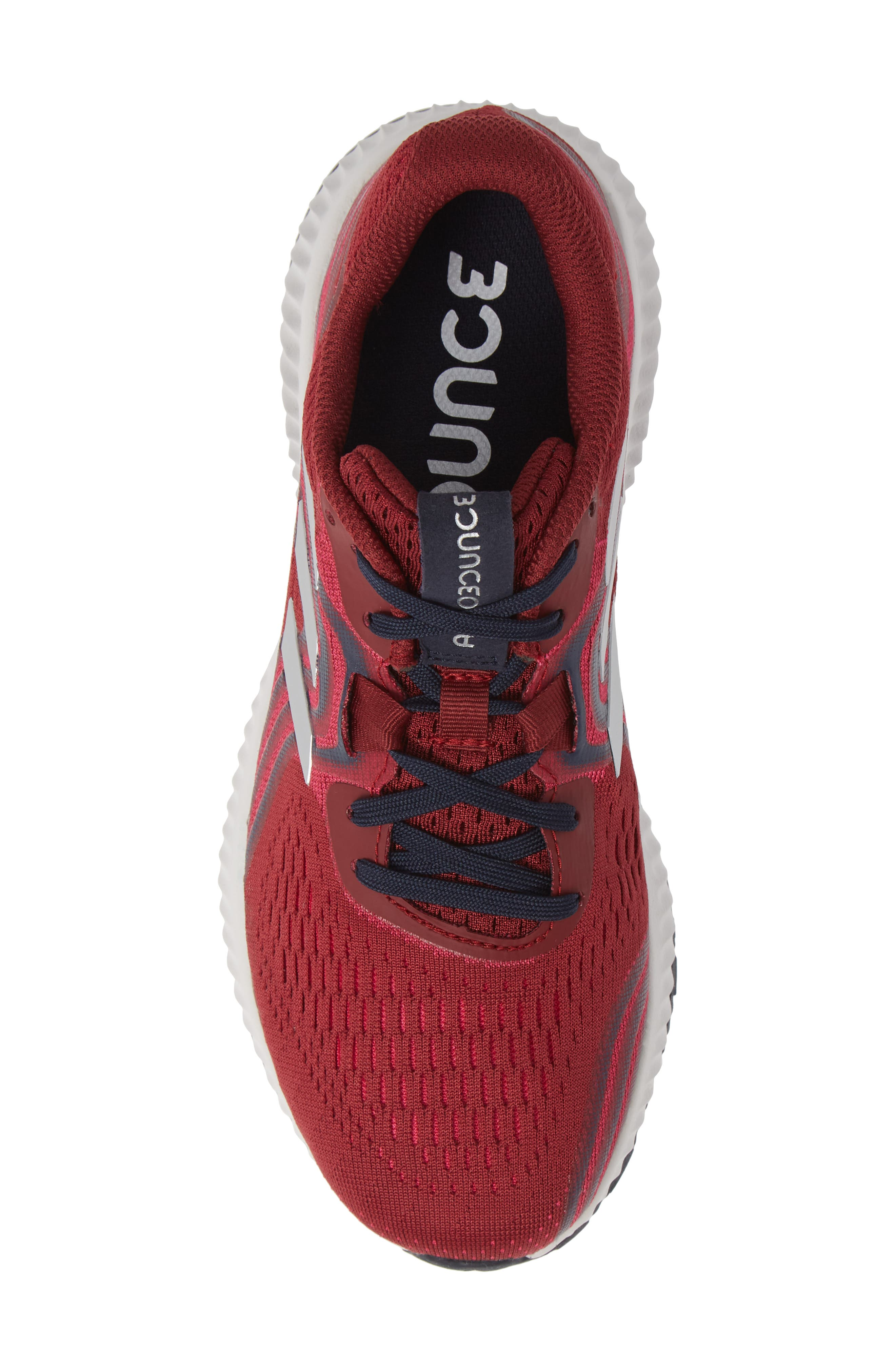 AeroBounce 2 Running Shoe,                             Alternate thumbnail 5, color,                             NOBLE MAROON/ SILVER/ MAGENTA