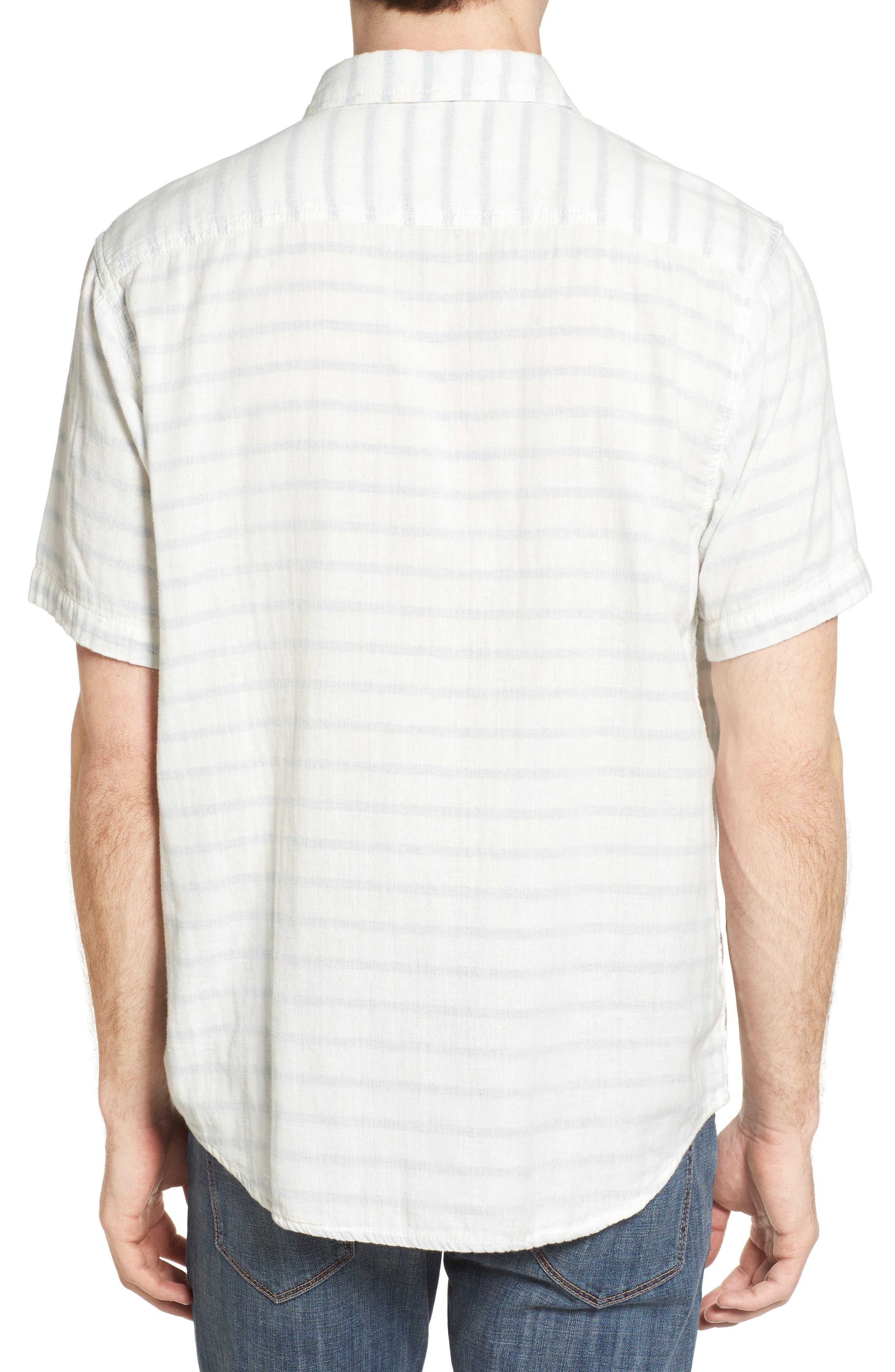 Newport Stripe Sport Shirt,                             Alternate thumbnail 2, color,                             100