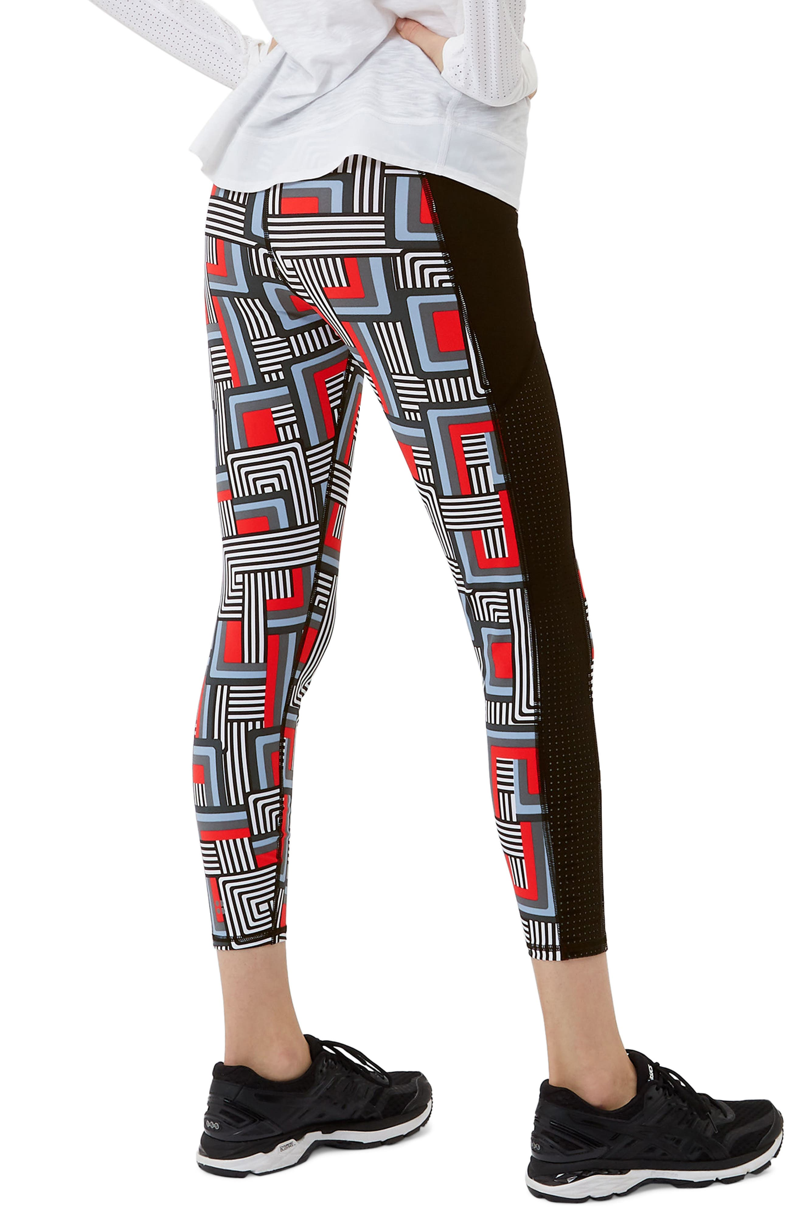 Zero Gravity Ankle Leggings,                             Alternate thumbnail 3, color,                             001