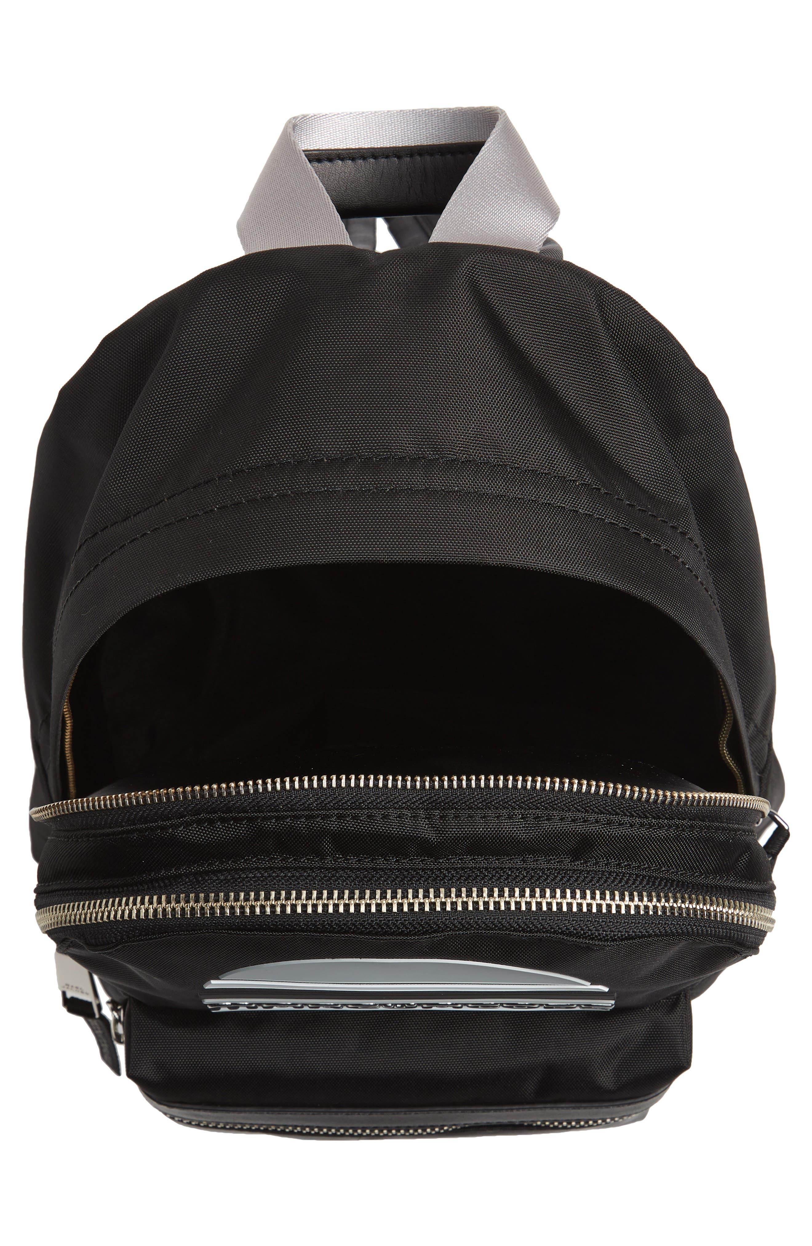 Medium Sport Trek Backpack,                             Alternate thumbnail 4, color,                             BLACK