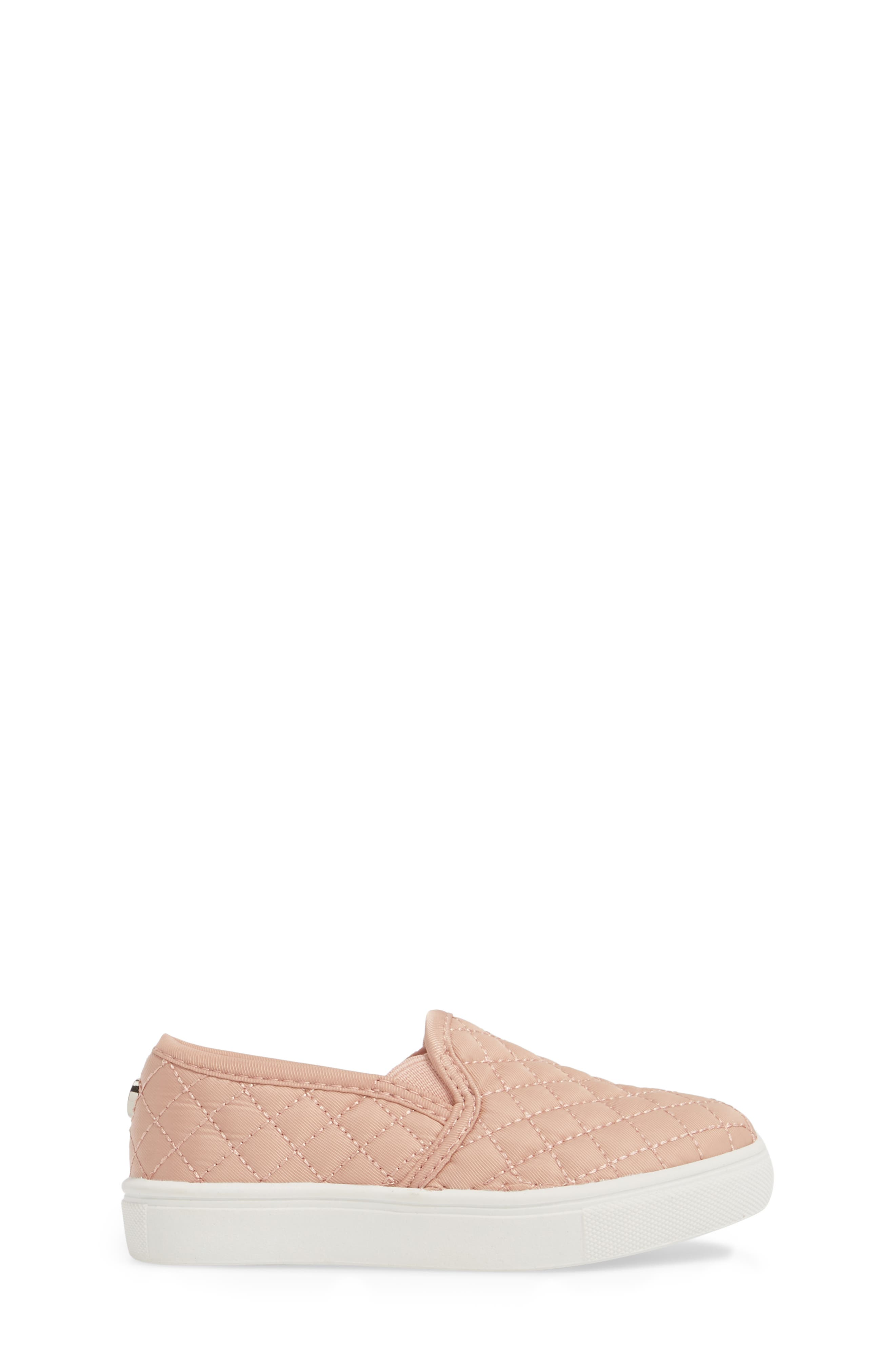 Tecntrc Quilted Slip-On Sneaker,                             Alternate thumbnail 3, color,                             BLUSH
