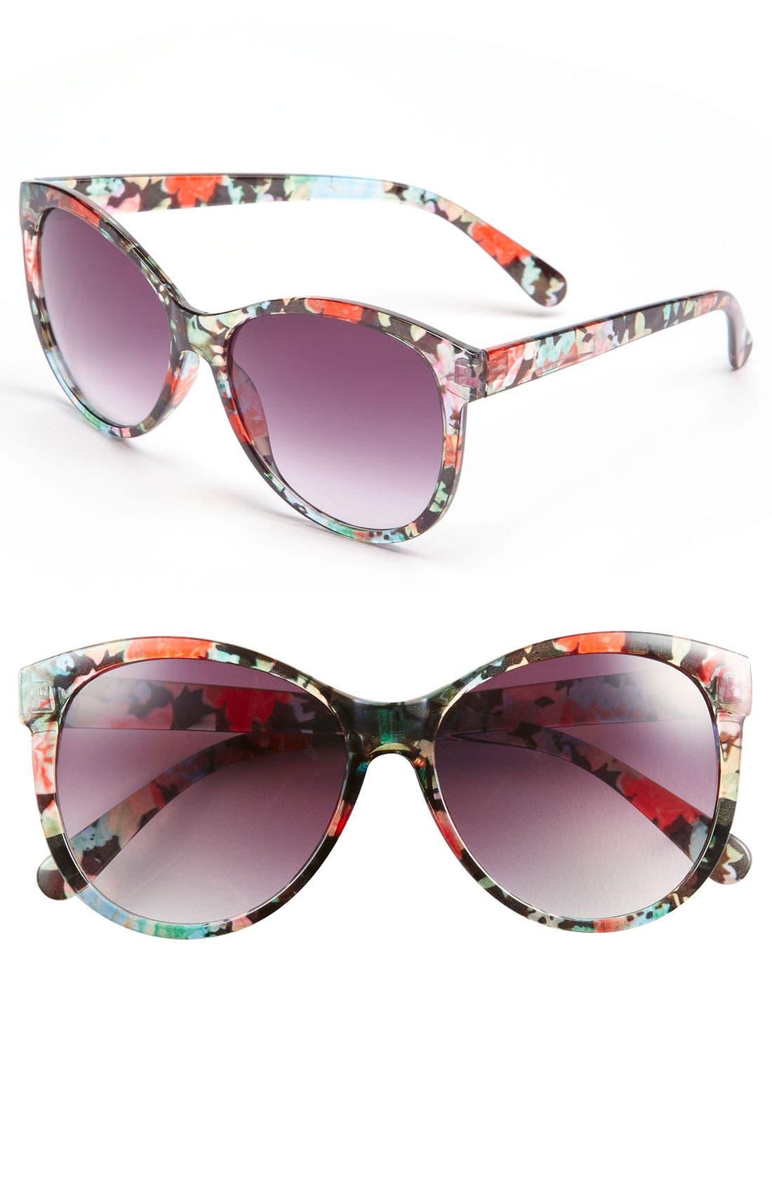 'Endless Summer' Sunglasses,                             Main thumbnail 1, color,                             001