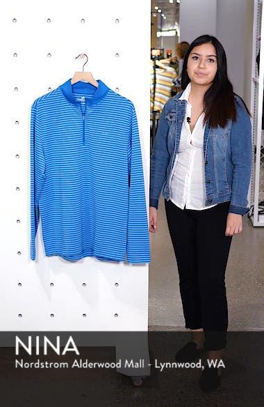 Stripe Quarter Zip Pullover, sales video thumbnail