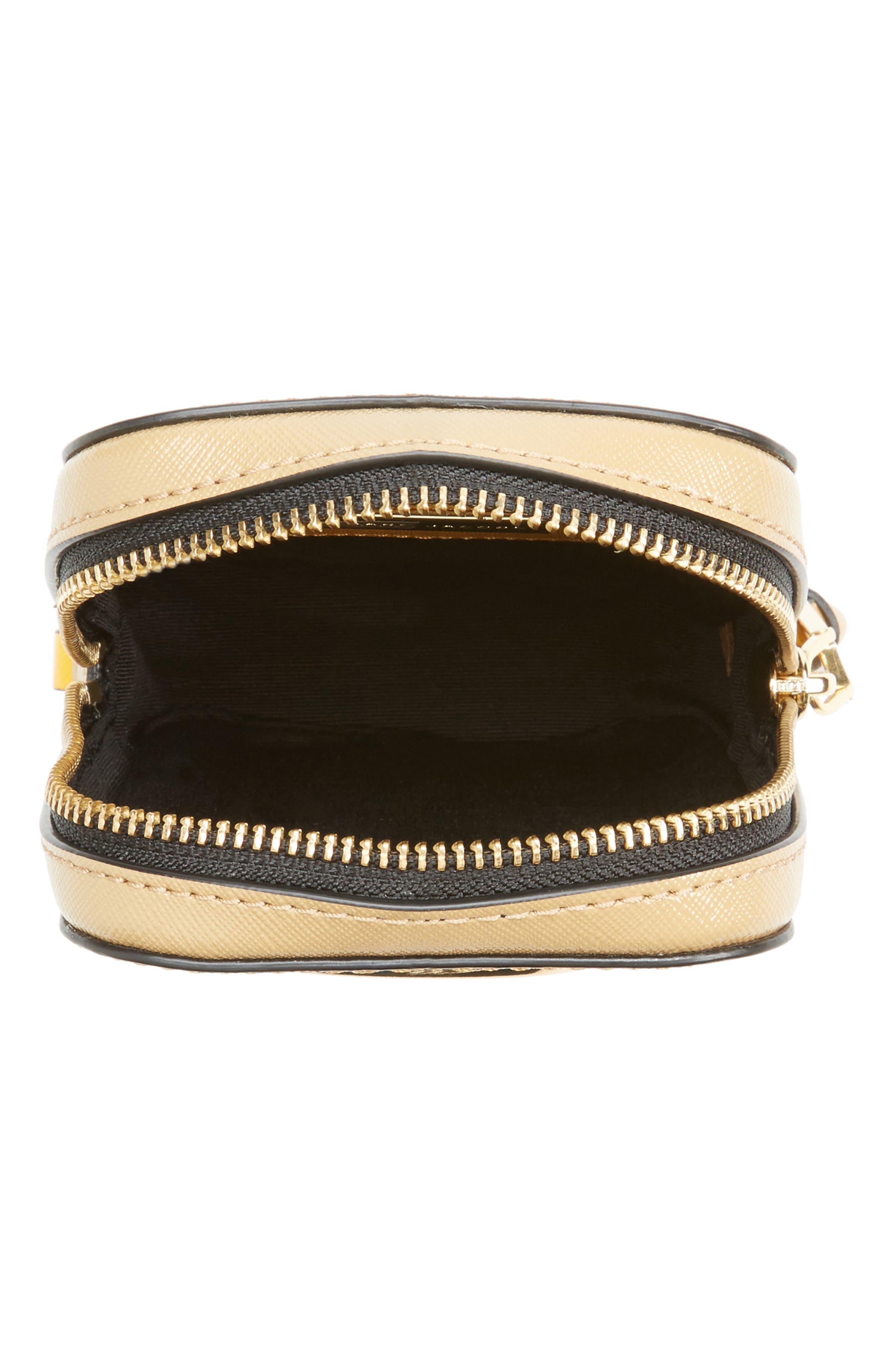 Hot Shot Saffiano Leather Shoulder Bag,                             Alternate thumbnail 15, color,