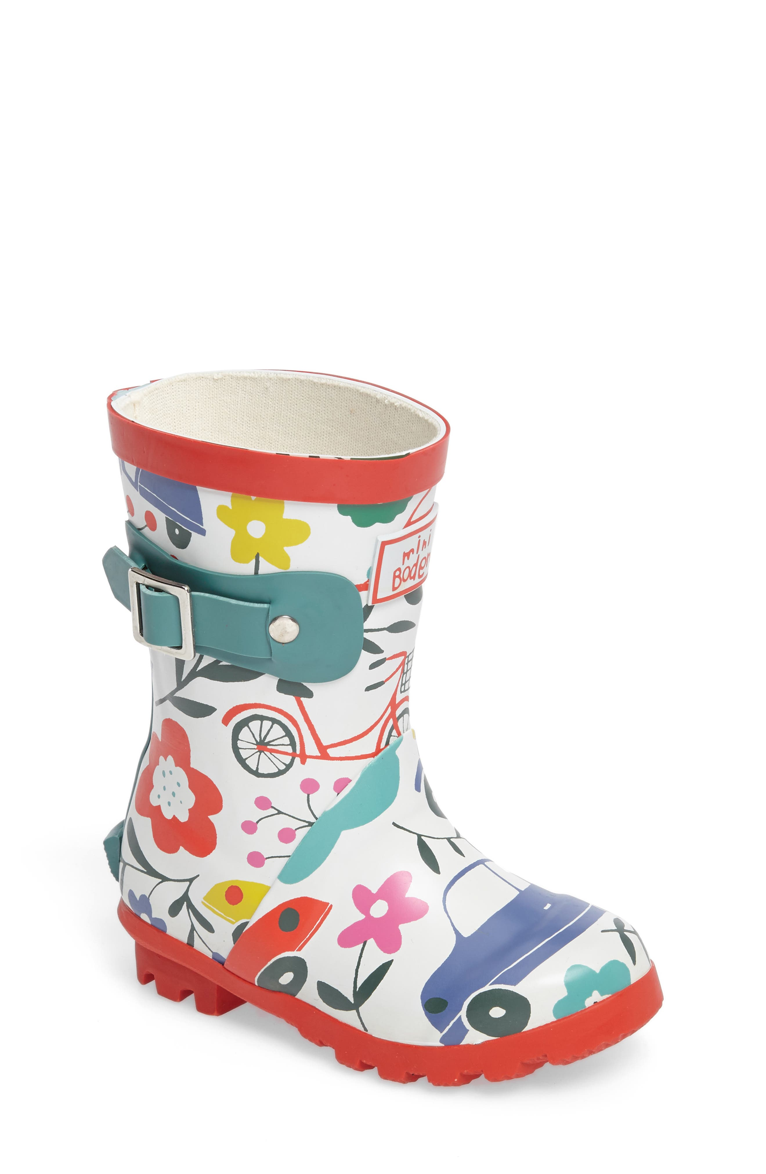 Printed Wellies,                         Main,                         color, 100