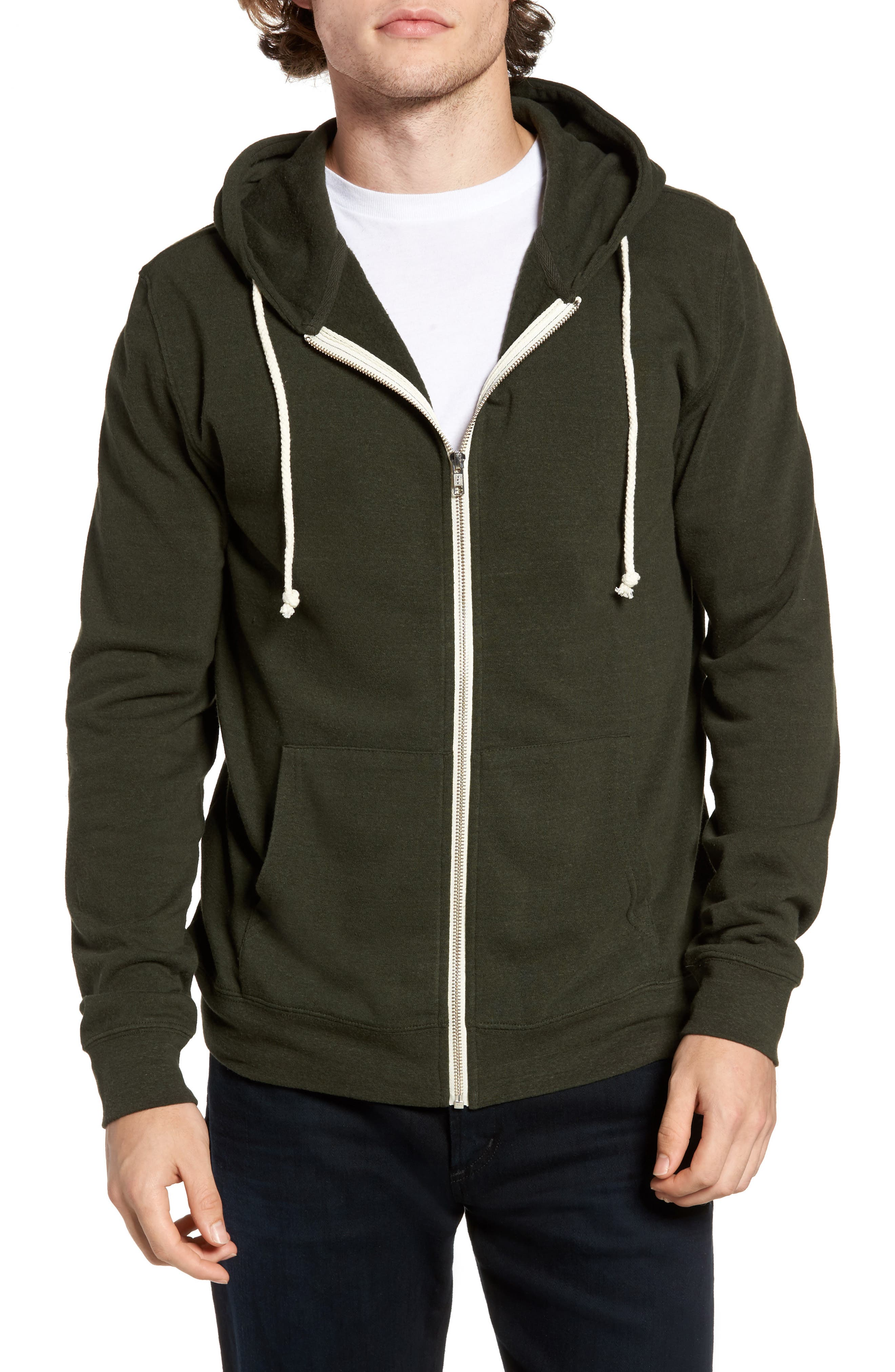 Threads for Thought Trim Fit Heathered Hoodie,                             Main thumbnail 22, color,