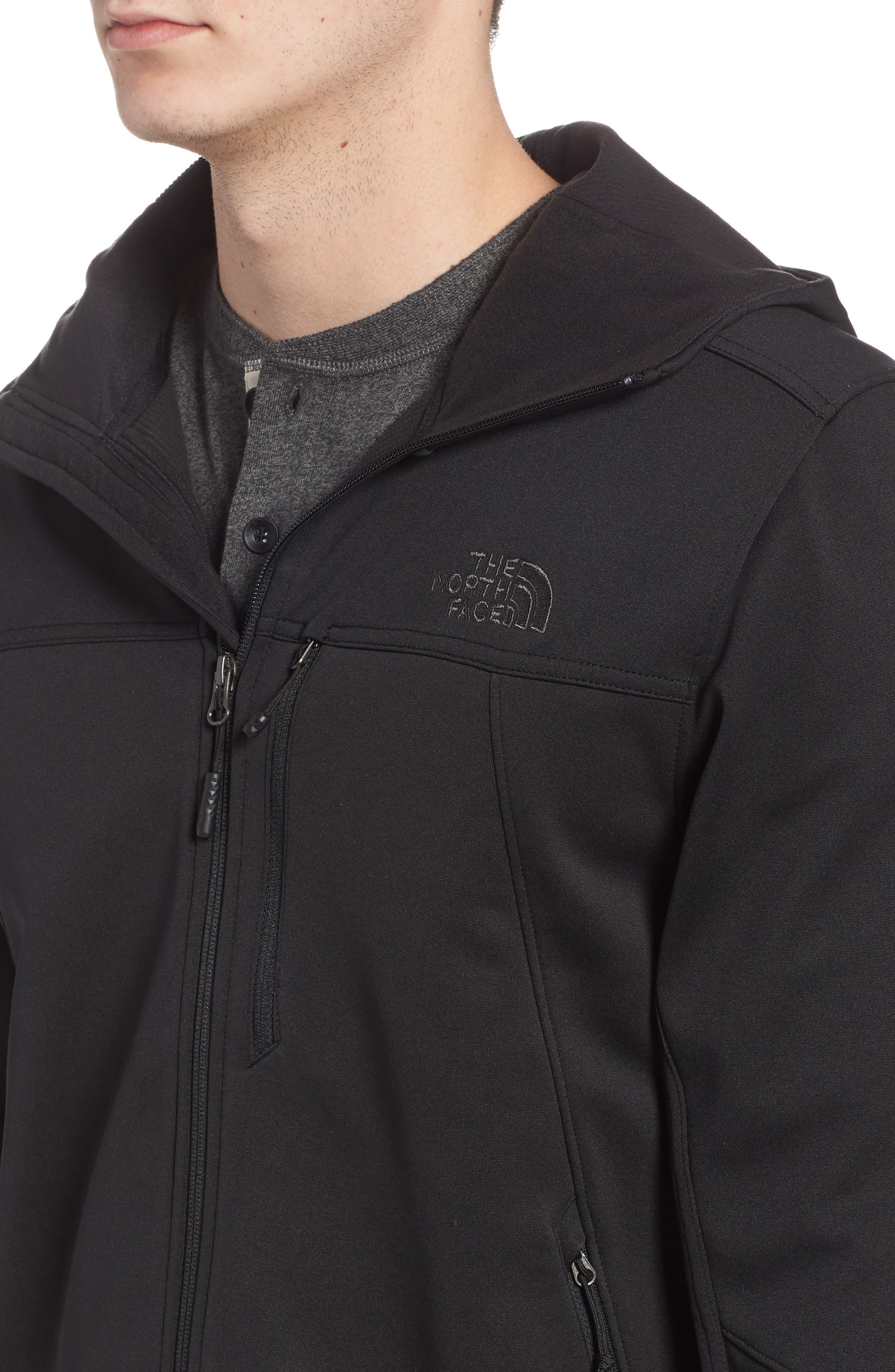 Apex Canyonwall Hybrid Jacket,                             Alternate thumbnail 4, color,                             001