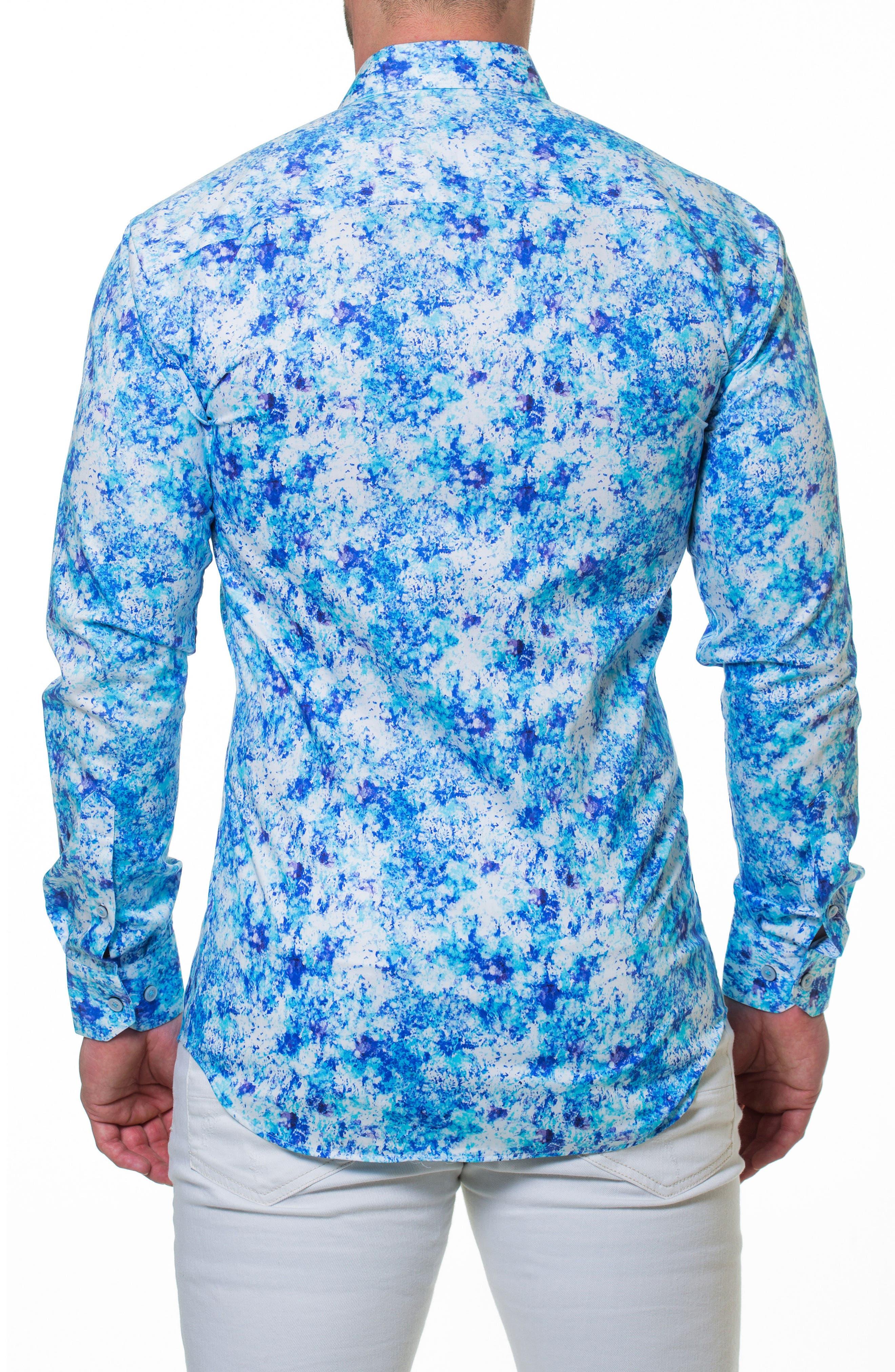 Luxor Noisy Slim Fit Sport Shirt,                             Alternate thumbnail 2, color,                             420