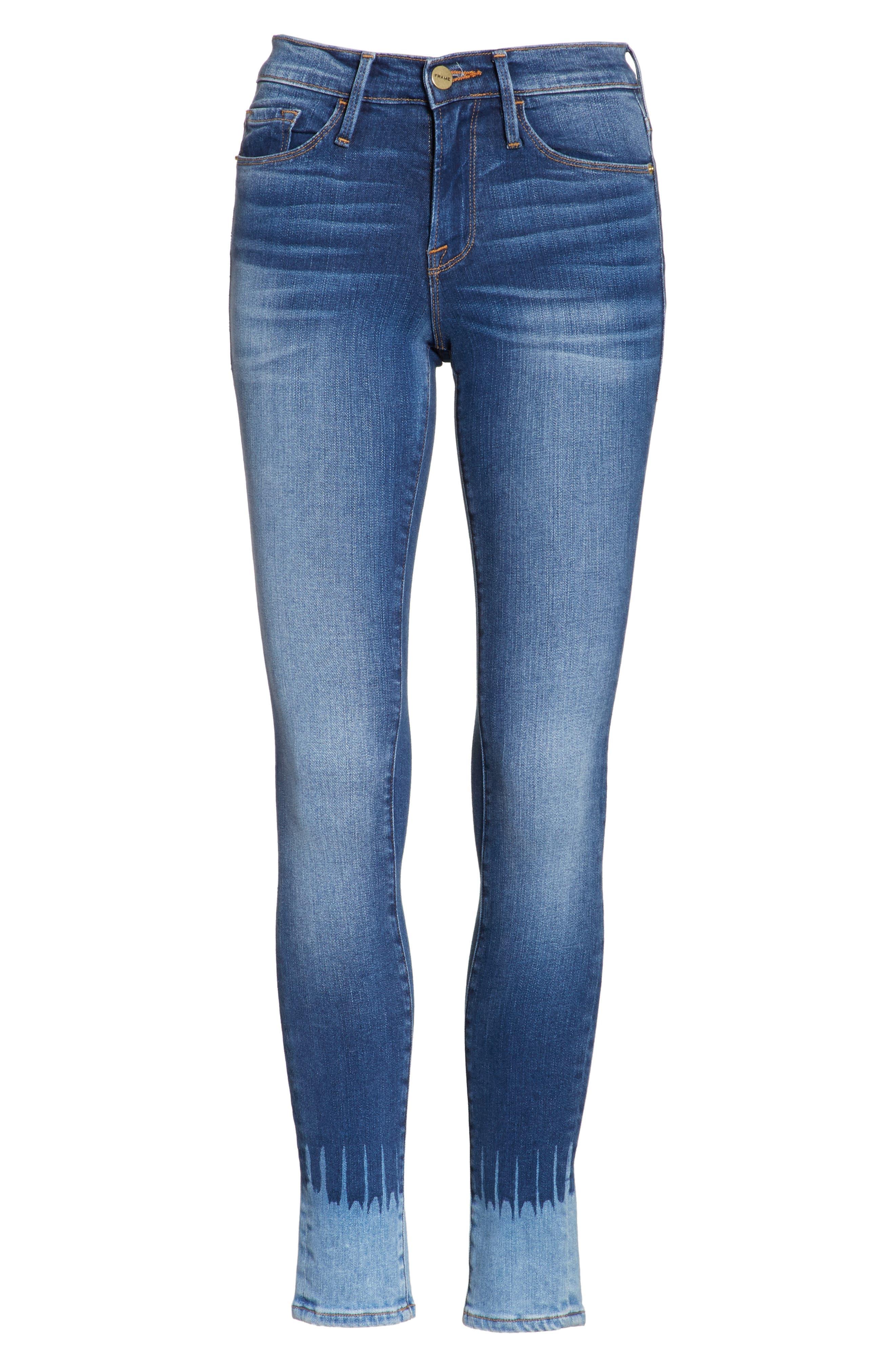 Le Skinny de Jeanne Jeans,                             Alternate thumbnail 6, color,                             420