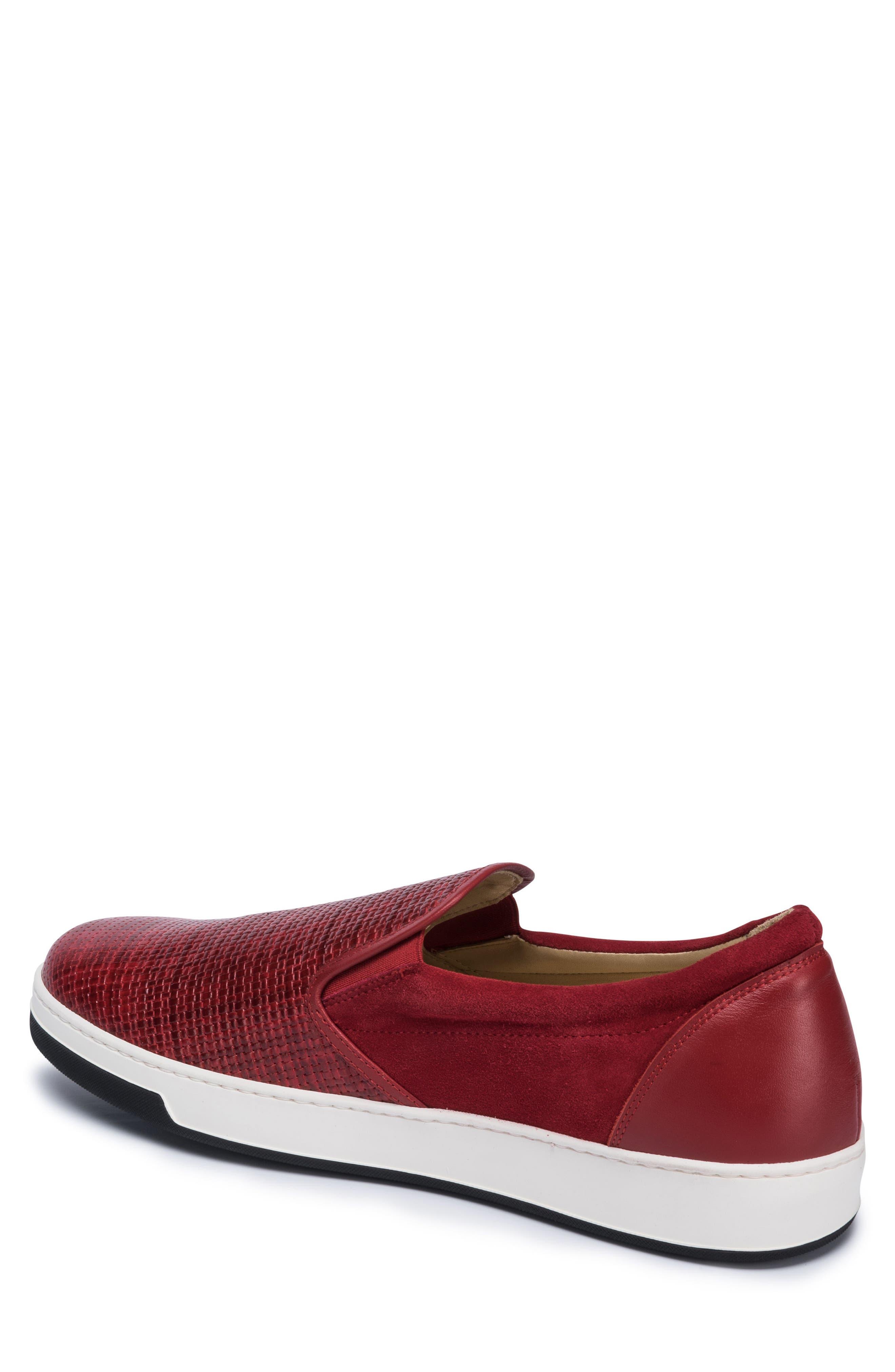 Cinque Terre Woven Slip-On Sneaker,                             Alternate thumbnail 6, color,
