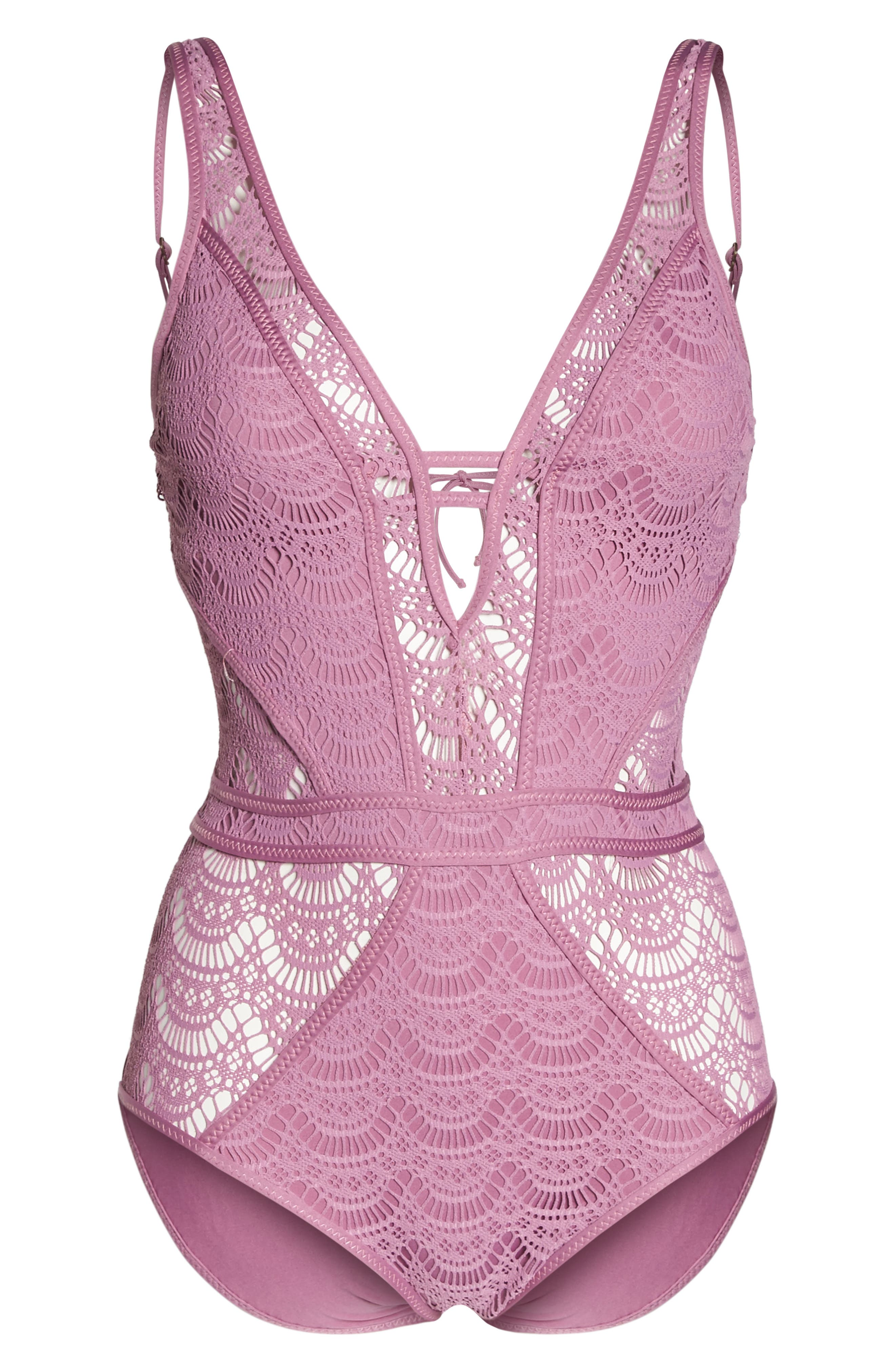 Show & Tell One-Piece Swimsuit,                             Alternate thumbnail 17, color,