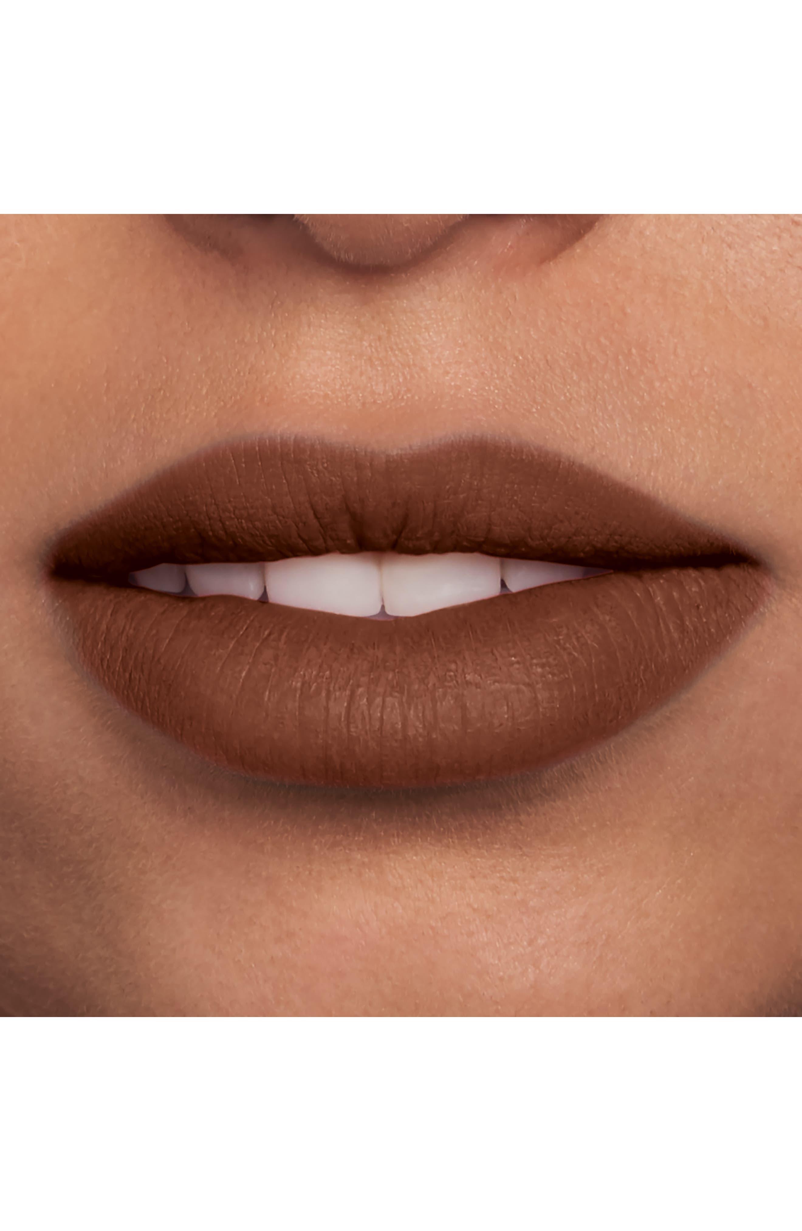 Velour Extreme Matte Lipstick,                             Alternate thumbnail 3, color,                             ROCK