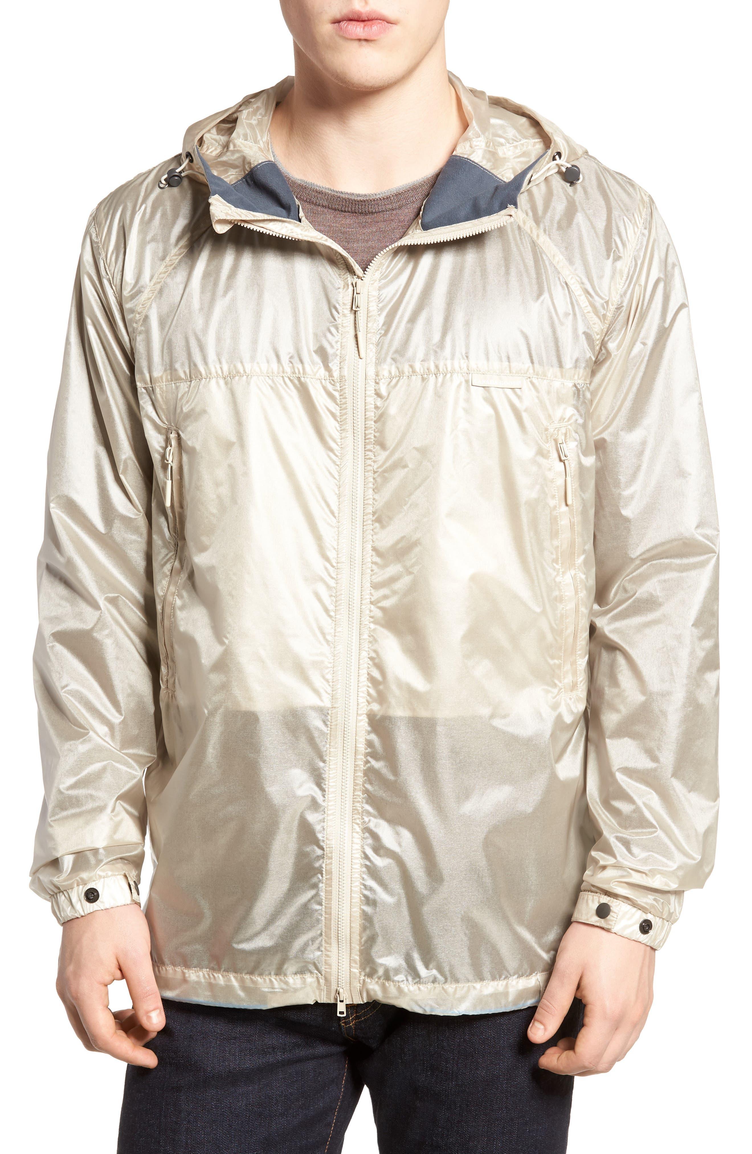 Sandpoint Regular Fit Water Resistant Jacket,                         Main,                         color, SANDBANK