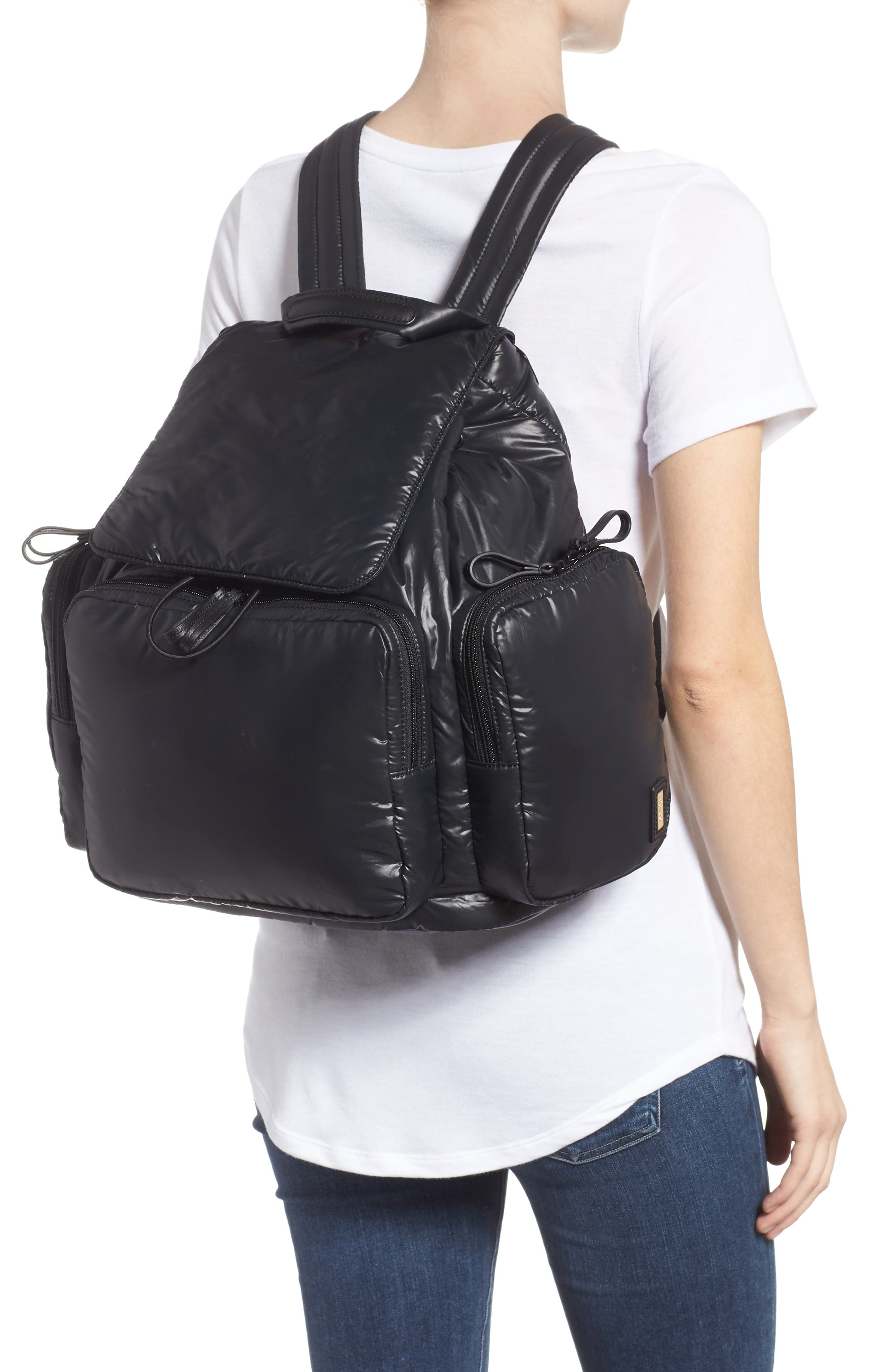 Cirrus Backpack,                             Alternate thumbnail 2, color,                             BLACK