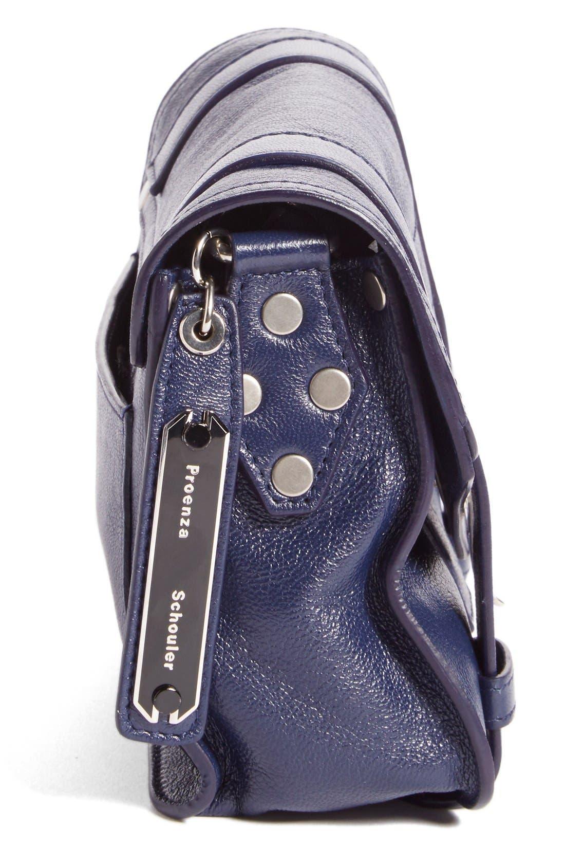 'Mini PS1' Lambskin Leather Crossbody Bag,                             Alternate thumbnail 14, color,