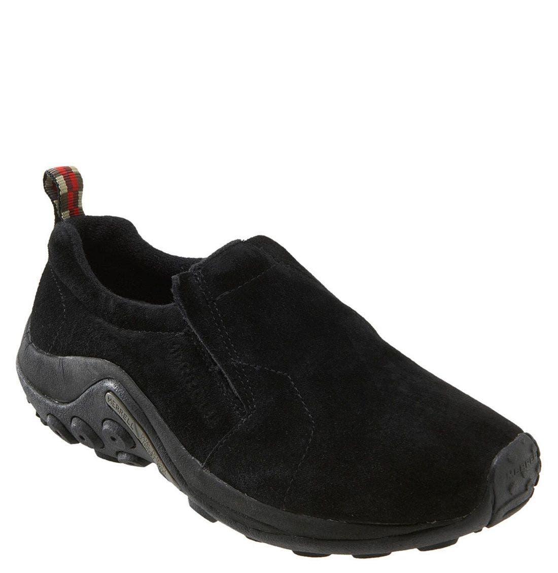 'Jungle Moc' Athletic Slip-On,                         Main,                         color, Black
