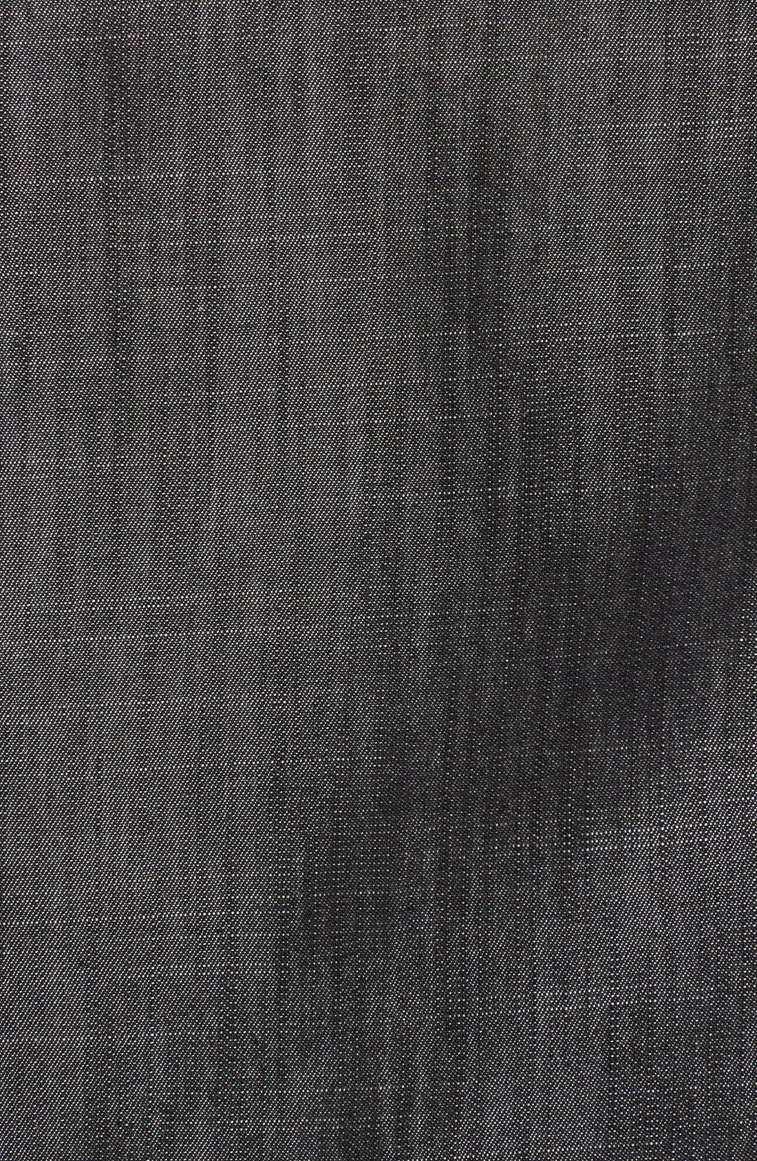 Chambray Long Draped Vest,                             Alternate thumbnail 2, color,                             020