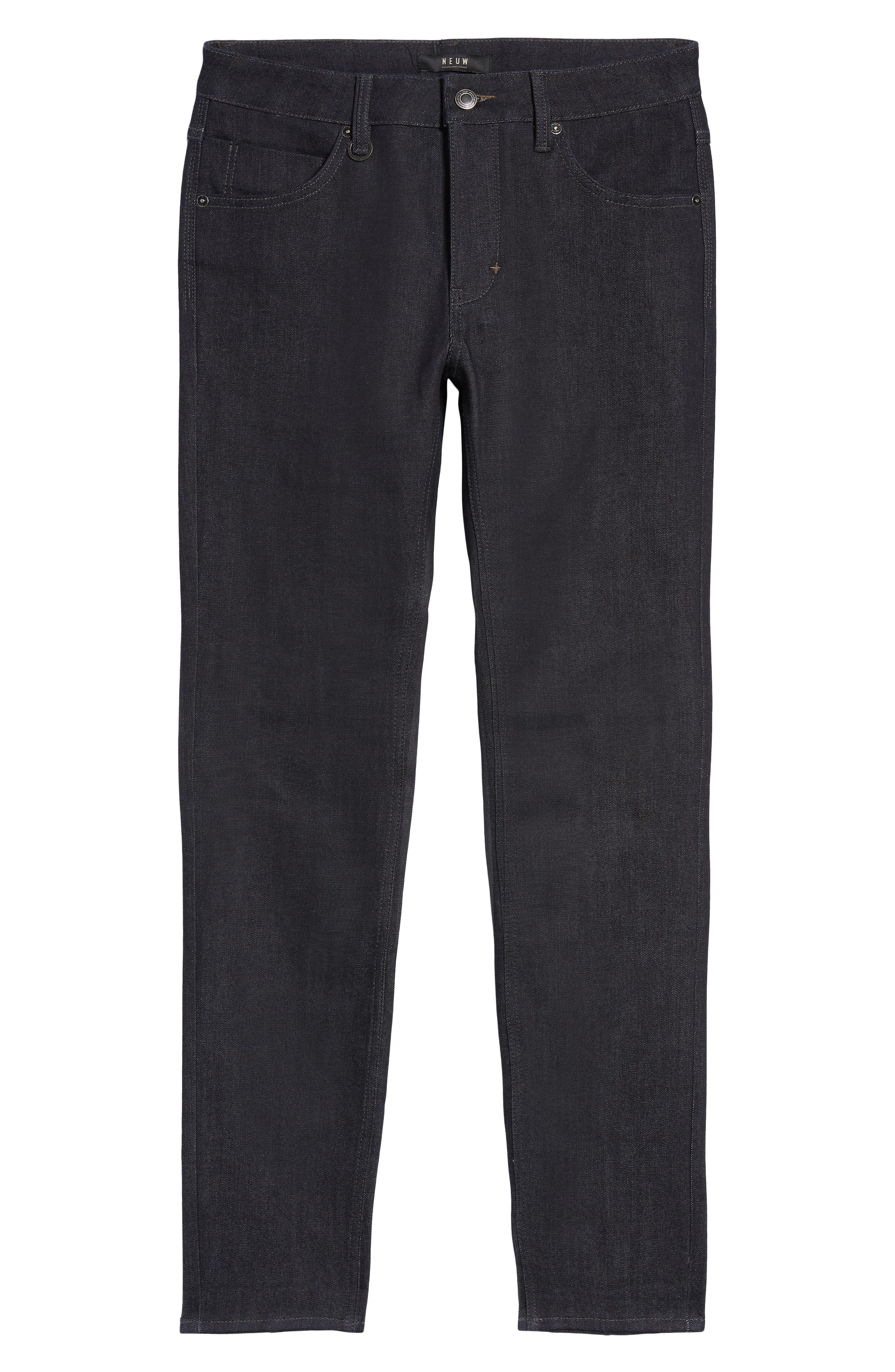 Iggy Skinny Fit Jeans,                             Alternate thumbnail 6, color,                             DRY
