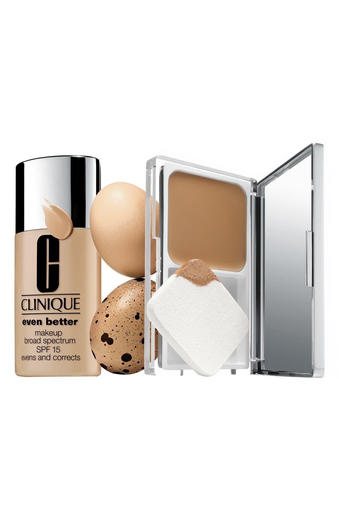 Even Better Compact Makeup Broad Spectrum SPF 15,                             Main thumbnail 1, color,                             GOLDEN