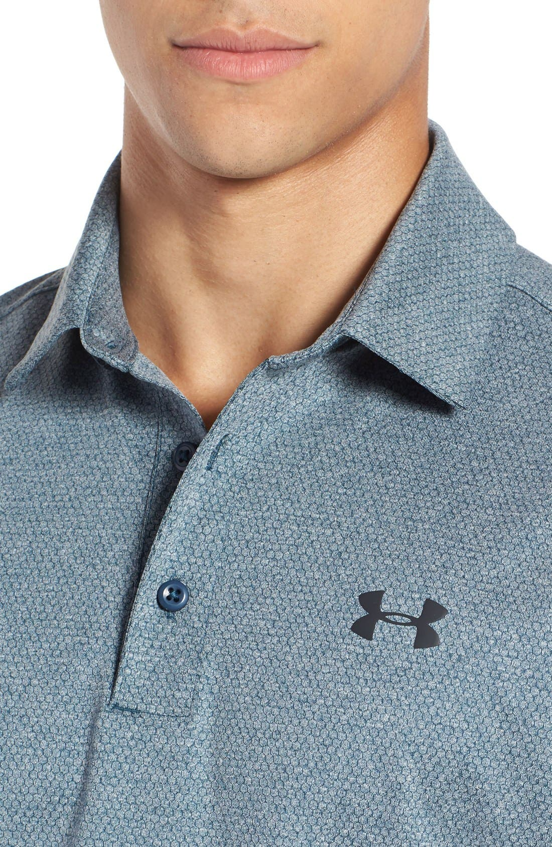 'Playoff' Loose Fit Short Sleeve Polo,                             Alternate thumbnail 230, color,