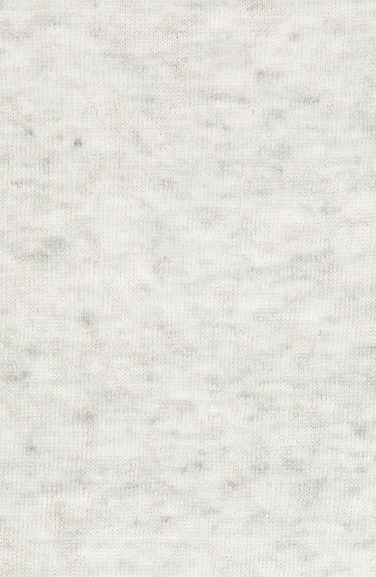Tripp Cotton & Wool T-Shirt,                             Alternate thumbnail 5, color,                             068