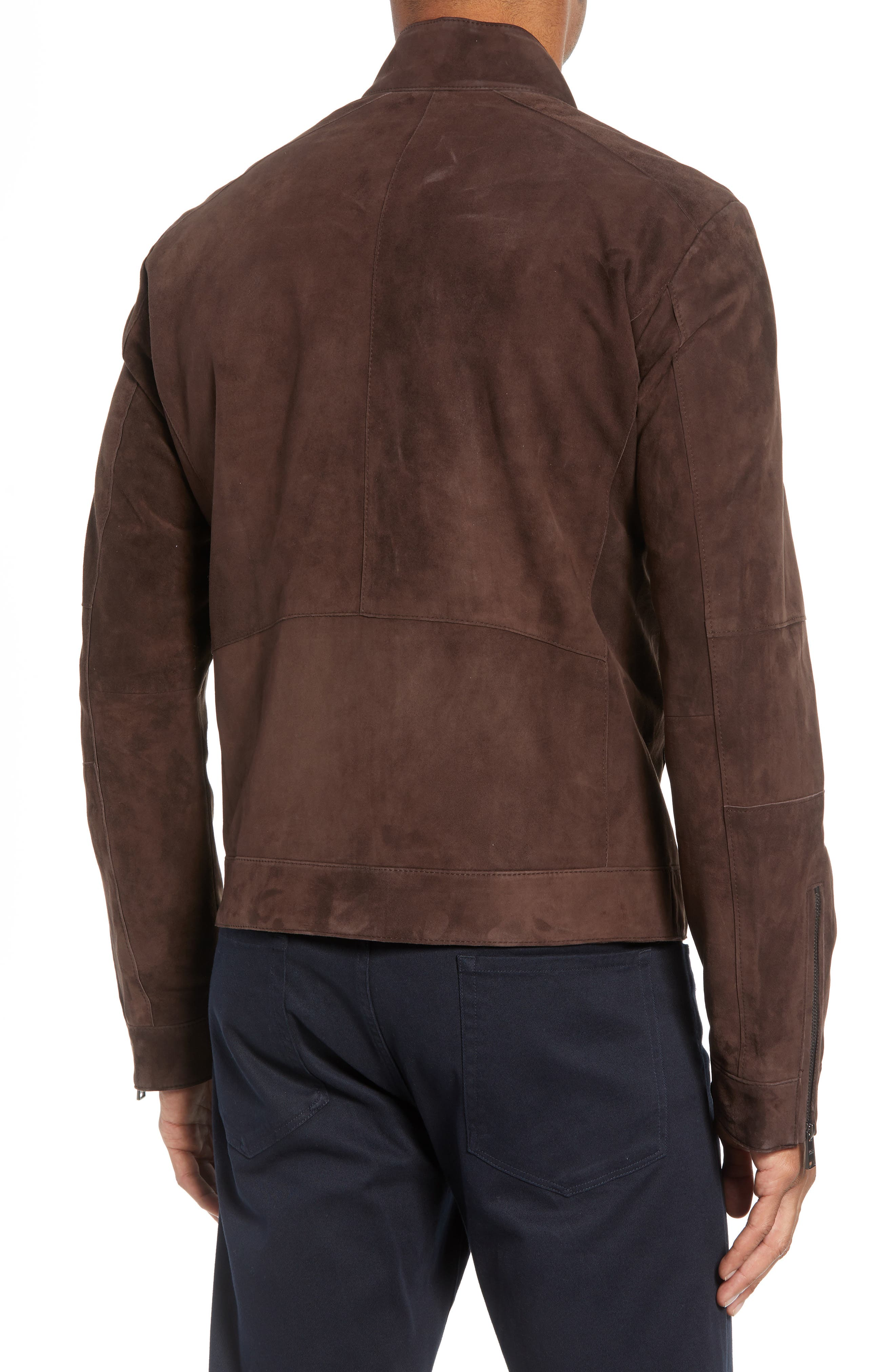 T-Nalok Suede Jacket,                             Alternate thumbnail 2, color,                             202