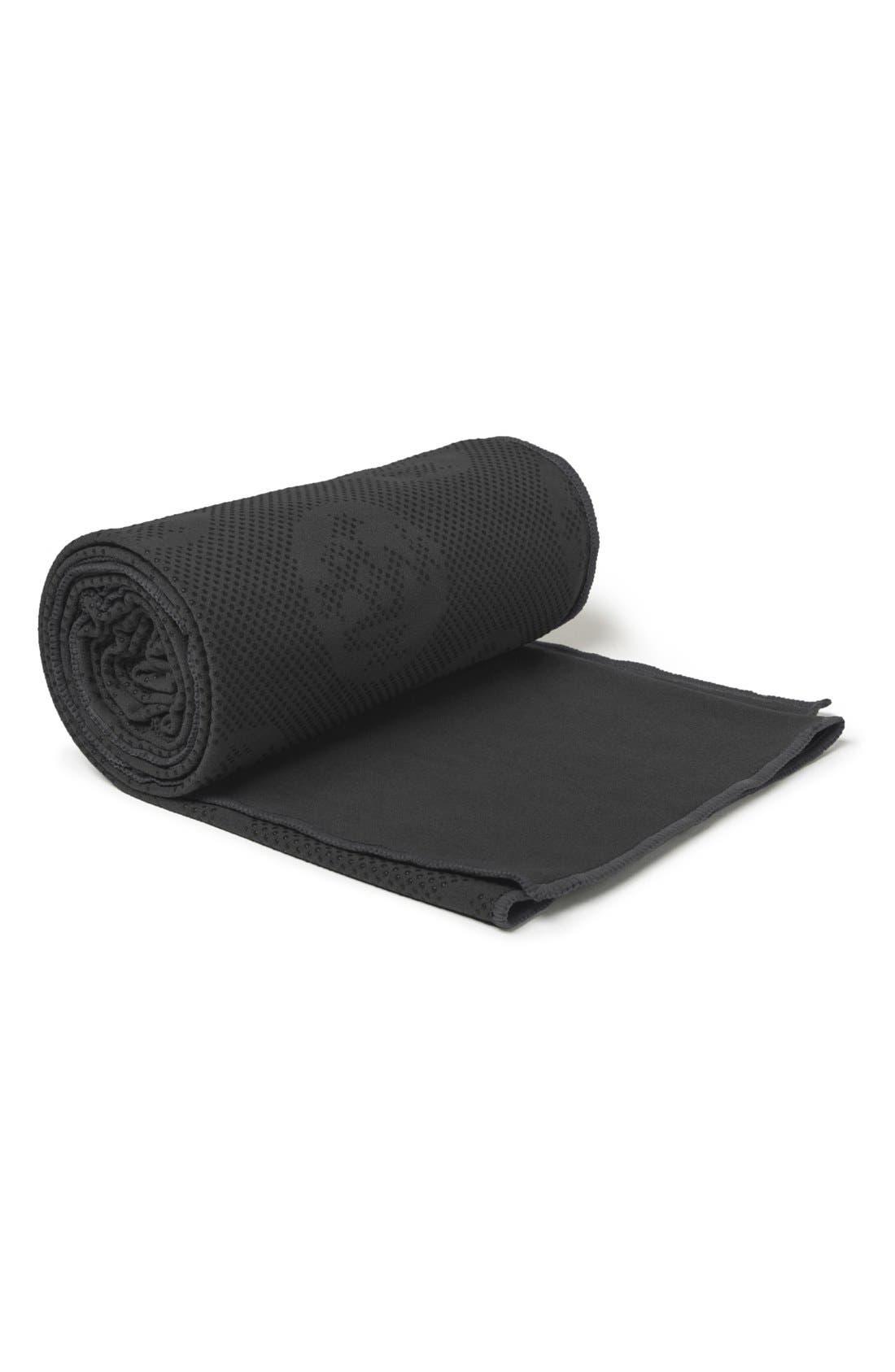 'eQua Hold' Yoga Mat Towel,                             Alternate thumbnail 3, color,
