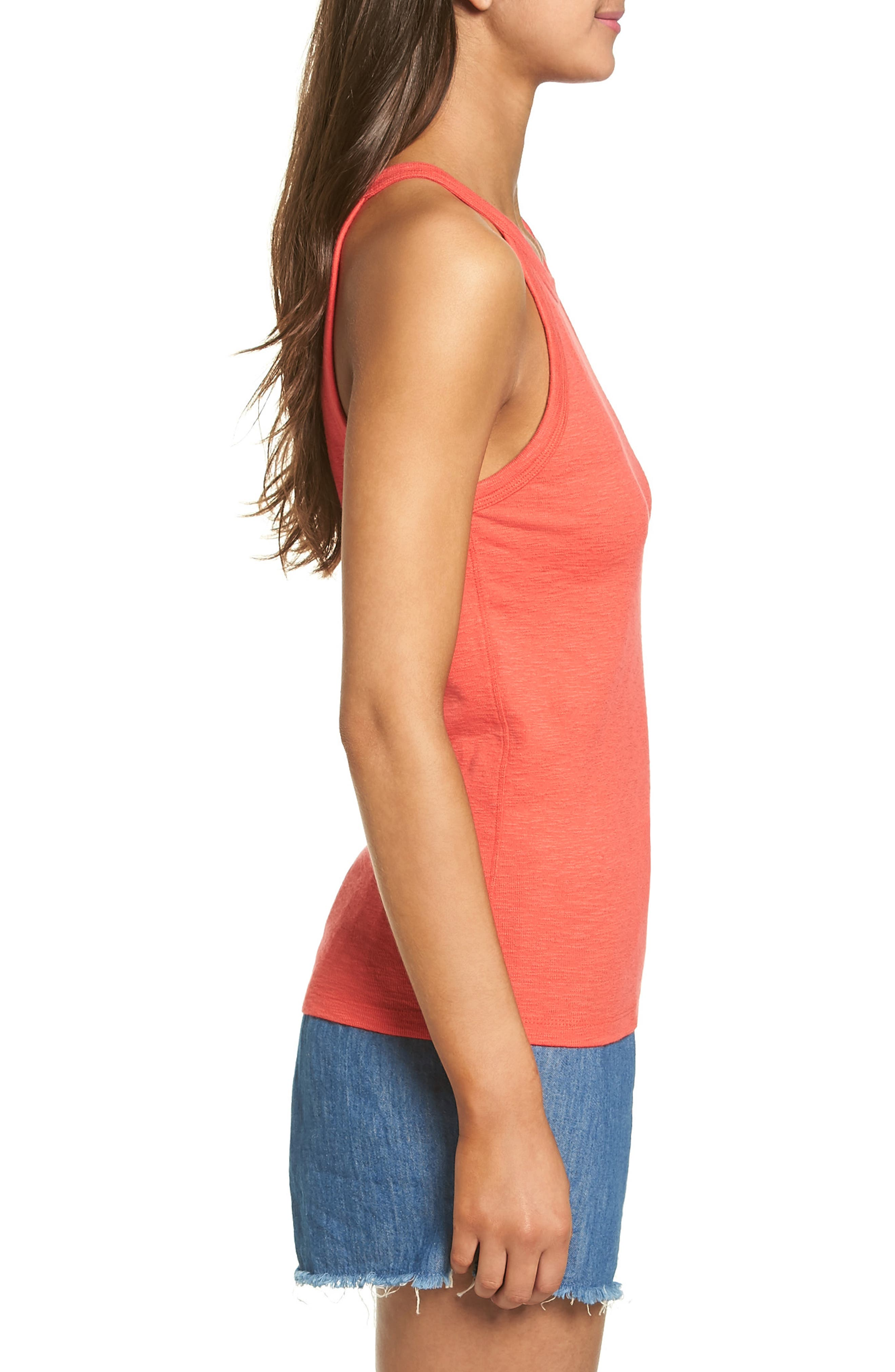 Timeoff High Neck Tank,                             Alternate thumbnail 9, color,