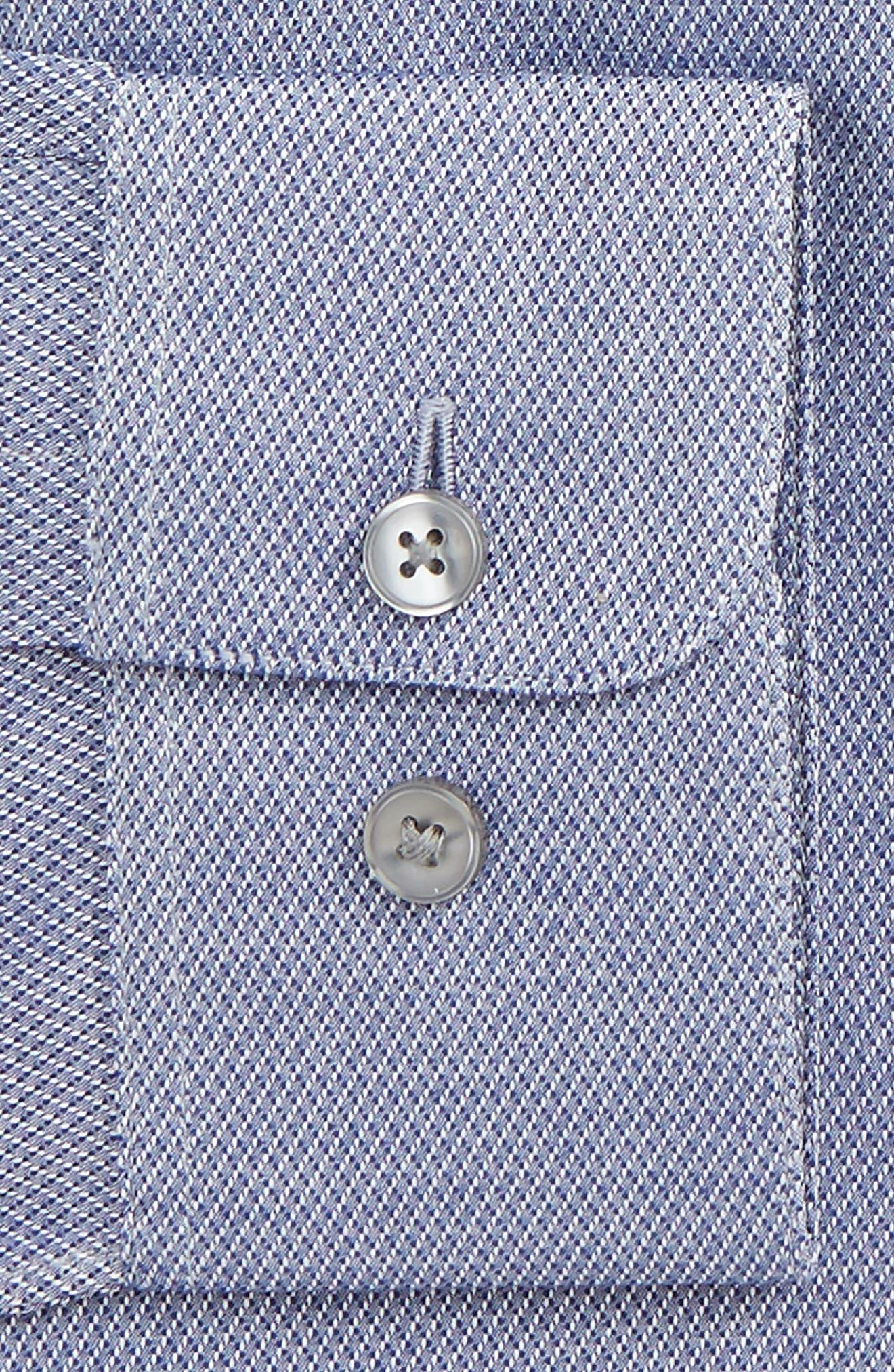 Slim Fit Stretch Geometric Dress Shirt,                             Alternate thumbnail 2, color,                             439