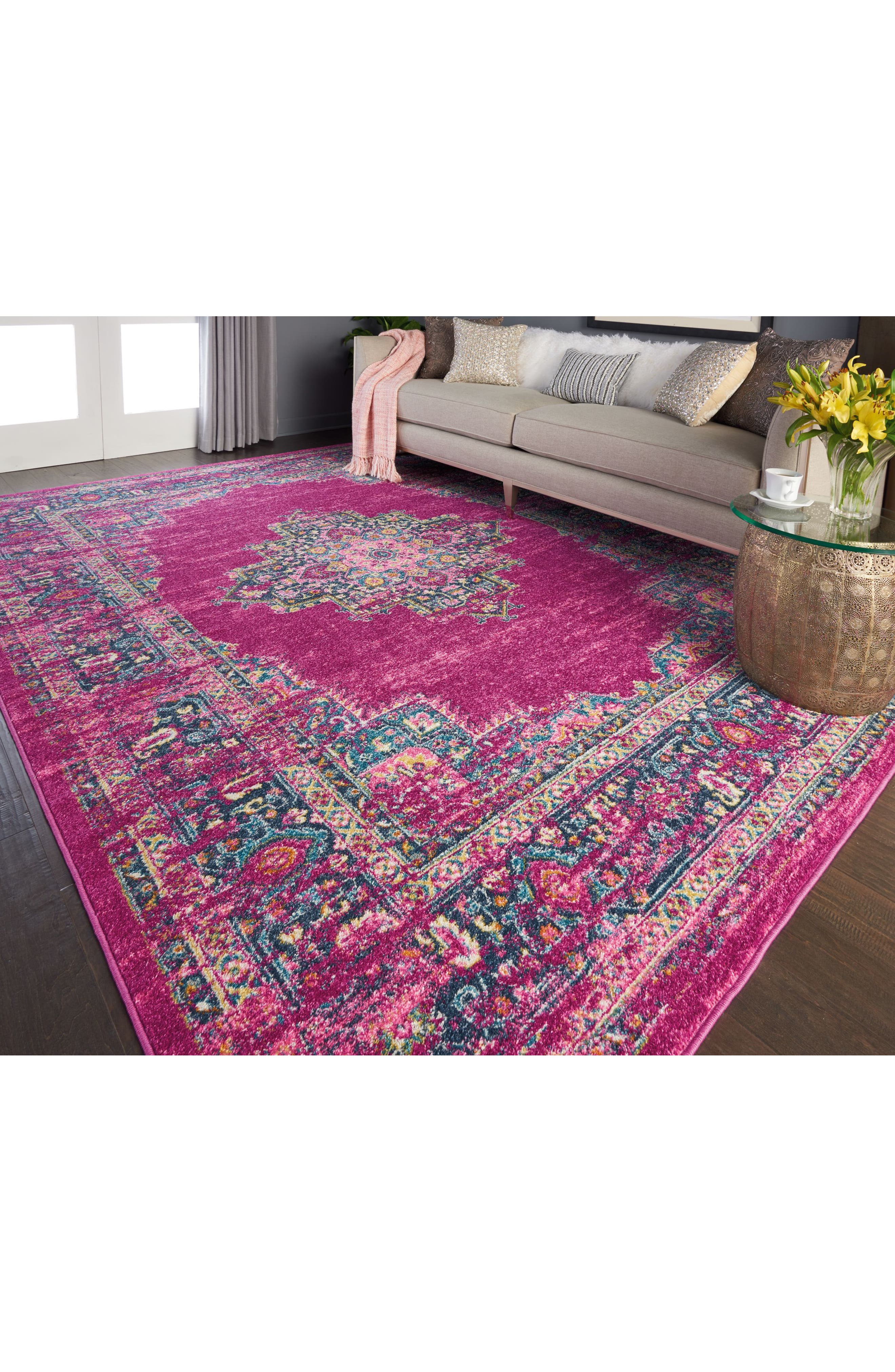 Passion Rug,                             Alternate thumbnail 16, color,