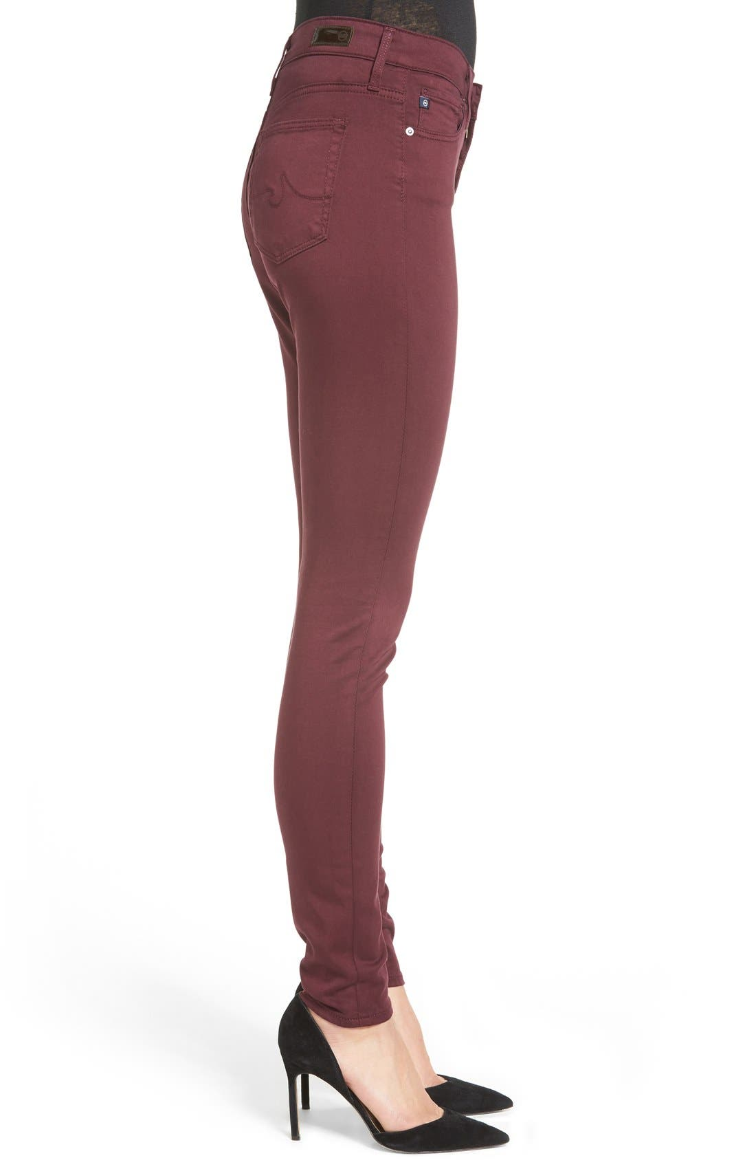 The Farrah High Rise Skinny Jeans,                             Alternate thumbnail 12, color,