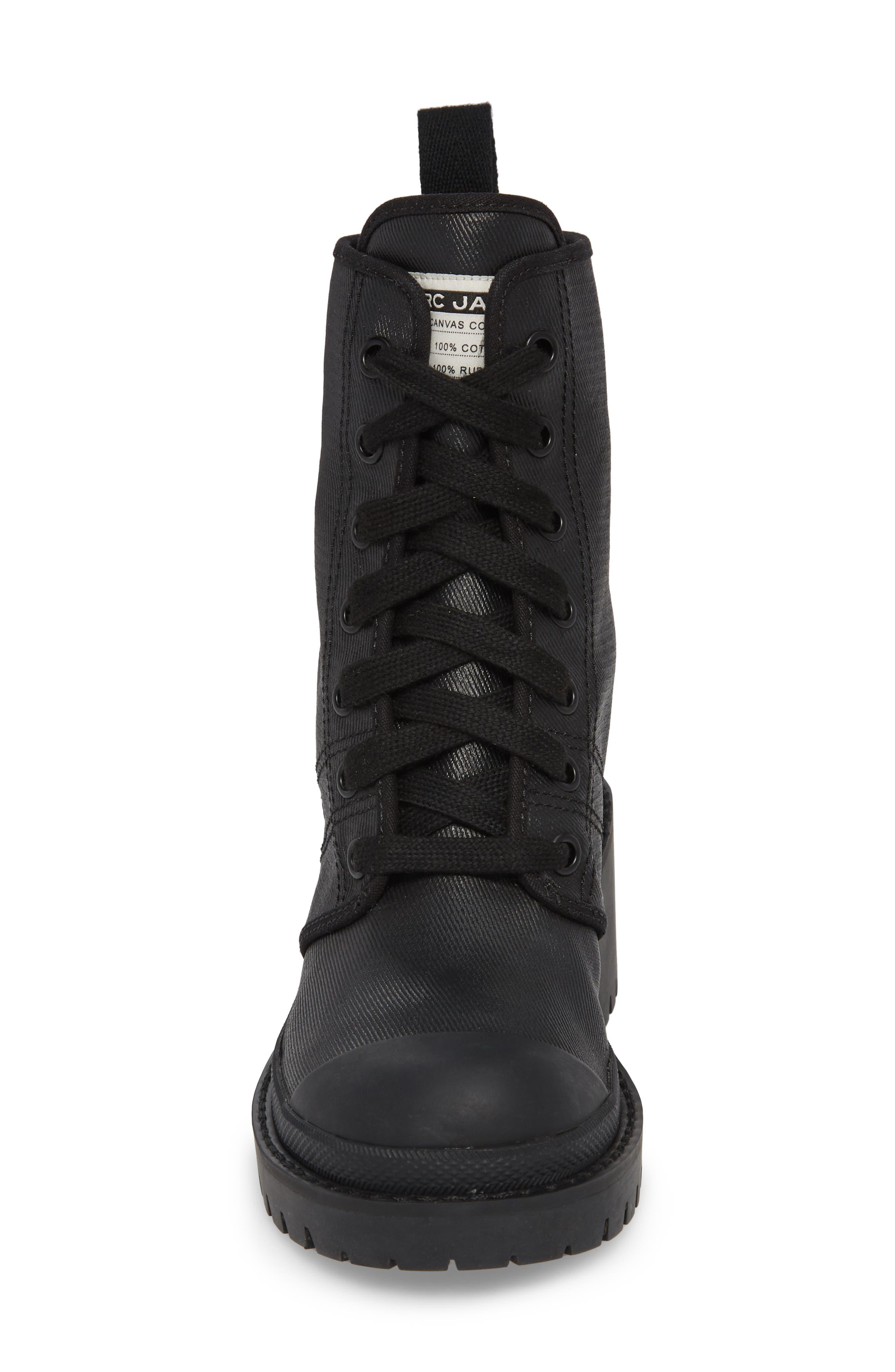 Bristol Lace-Up Boot,                             Alternate thumbnail 4, color,                             001