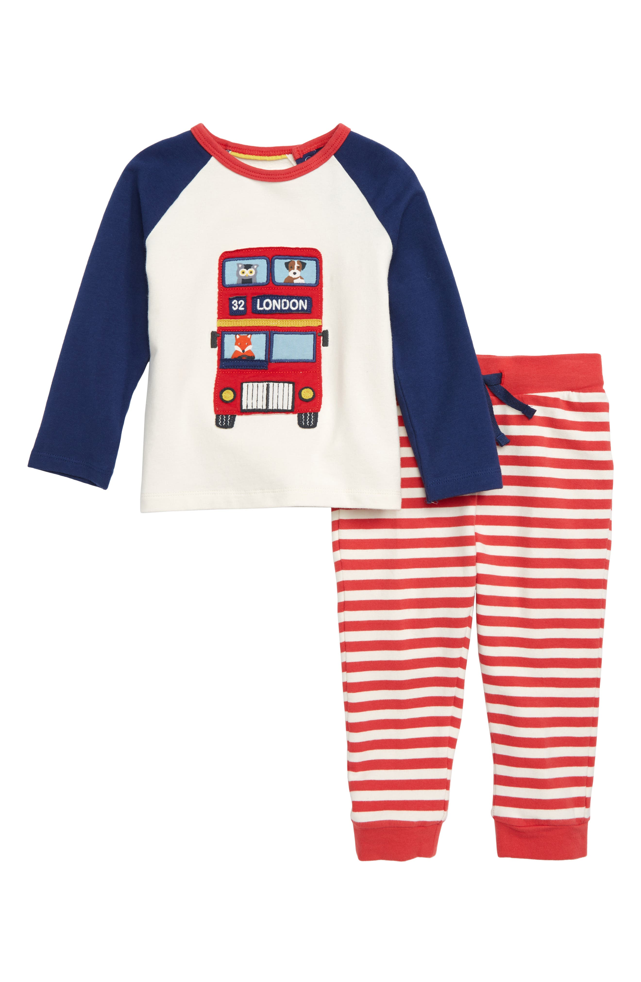 Fun Appliqué T-Shirt & Pants Set,                         Main,                         color, 114