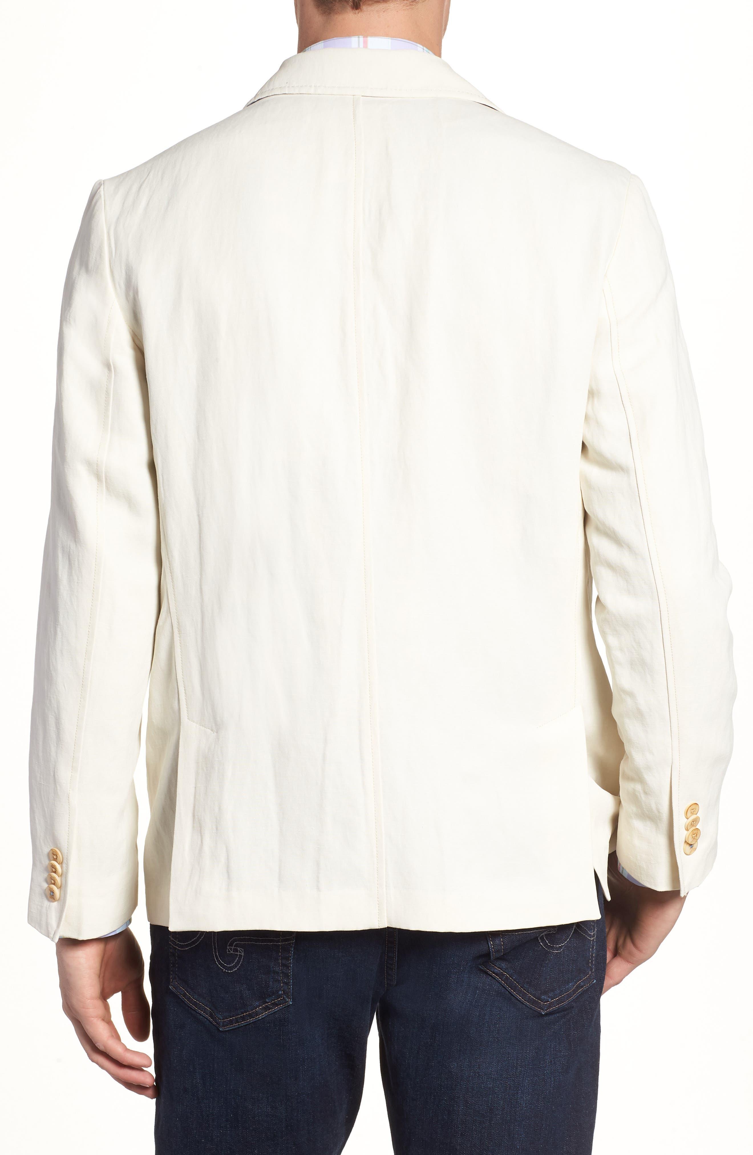 TOMMY BAHAMA,                             Monterey Silk & Linen Blazer,                             Alternate thumbnail 2, color,                             WARM SAND