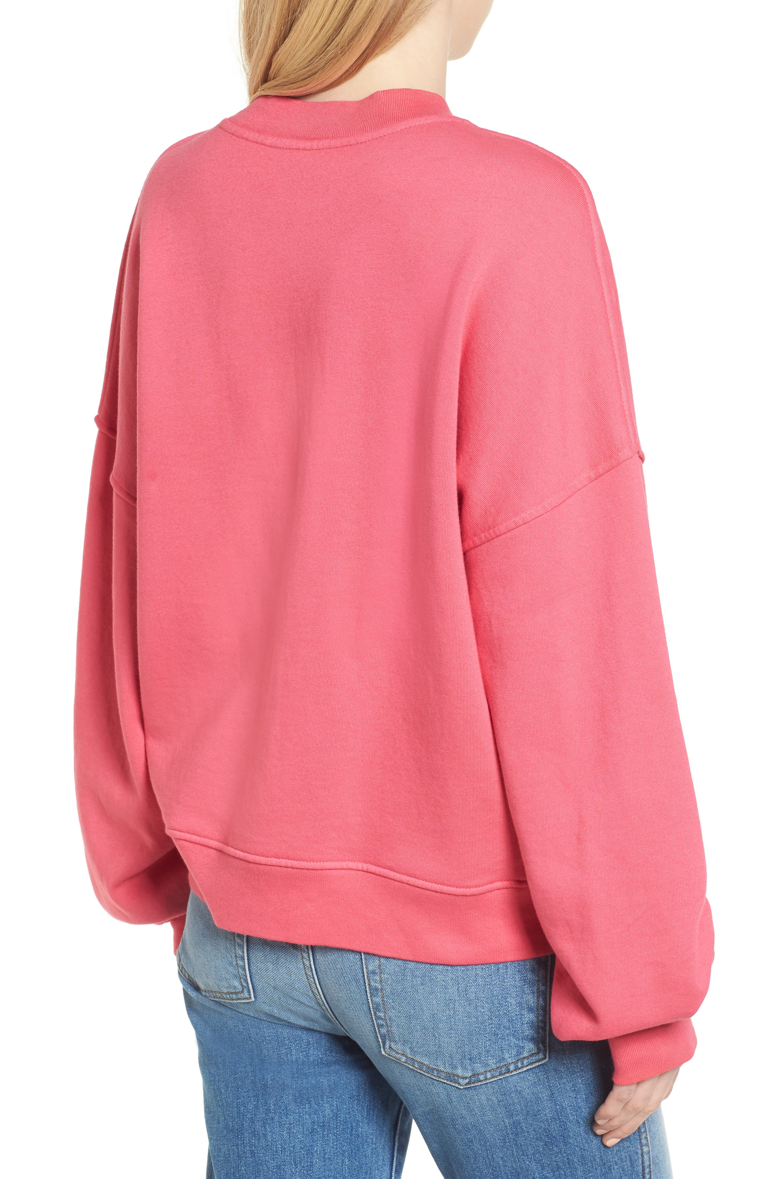 Mankind Outline Embroidered Sweatshirt,                             Alternate thumbnail 2, color,