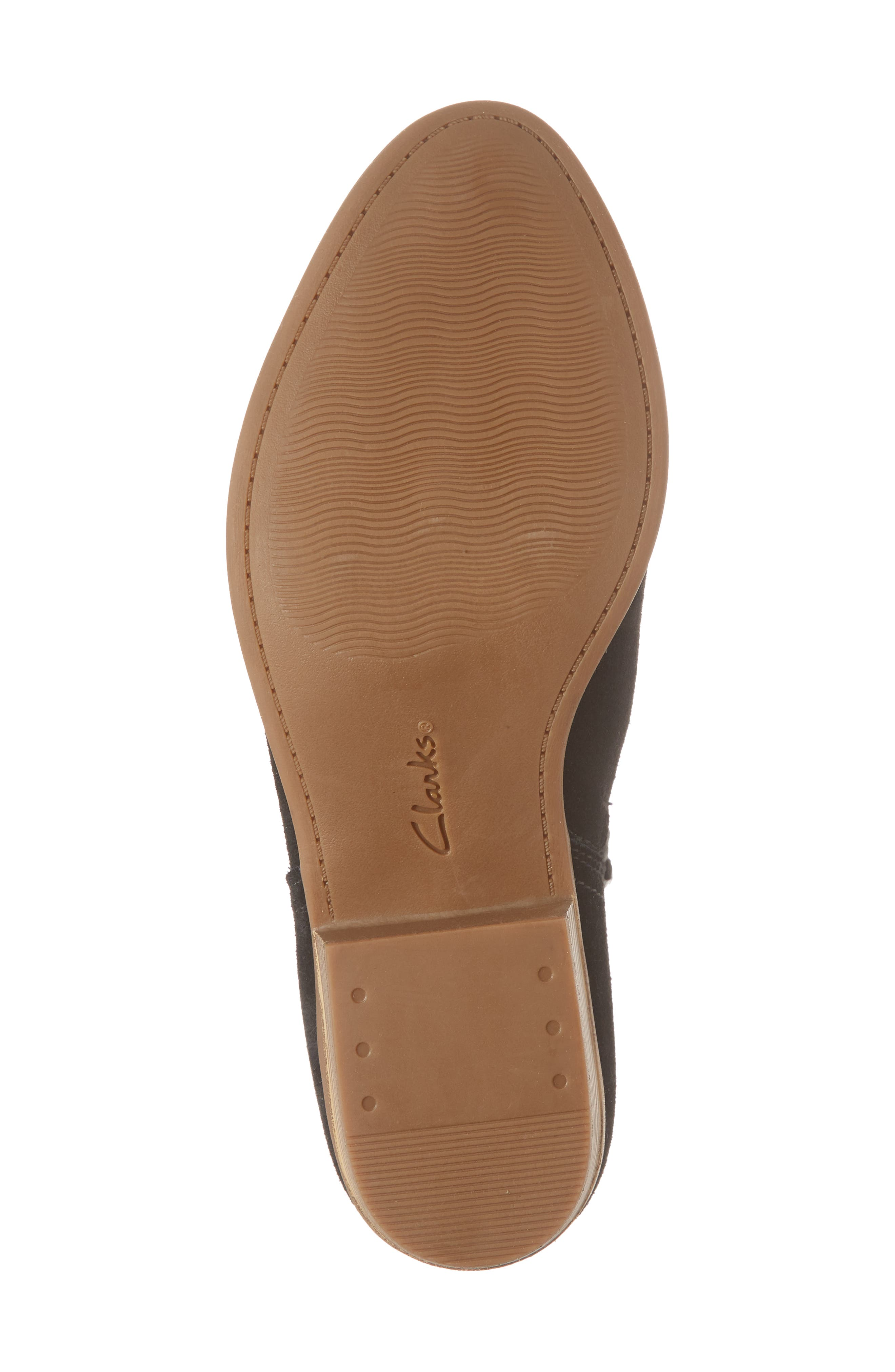 CLARKS<SUP>®</SUP>,                             Clark<sup>®</sup> Addiy Carisa Chelsea Boot,                             Alternate thumbnail 6, color,                             007