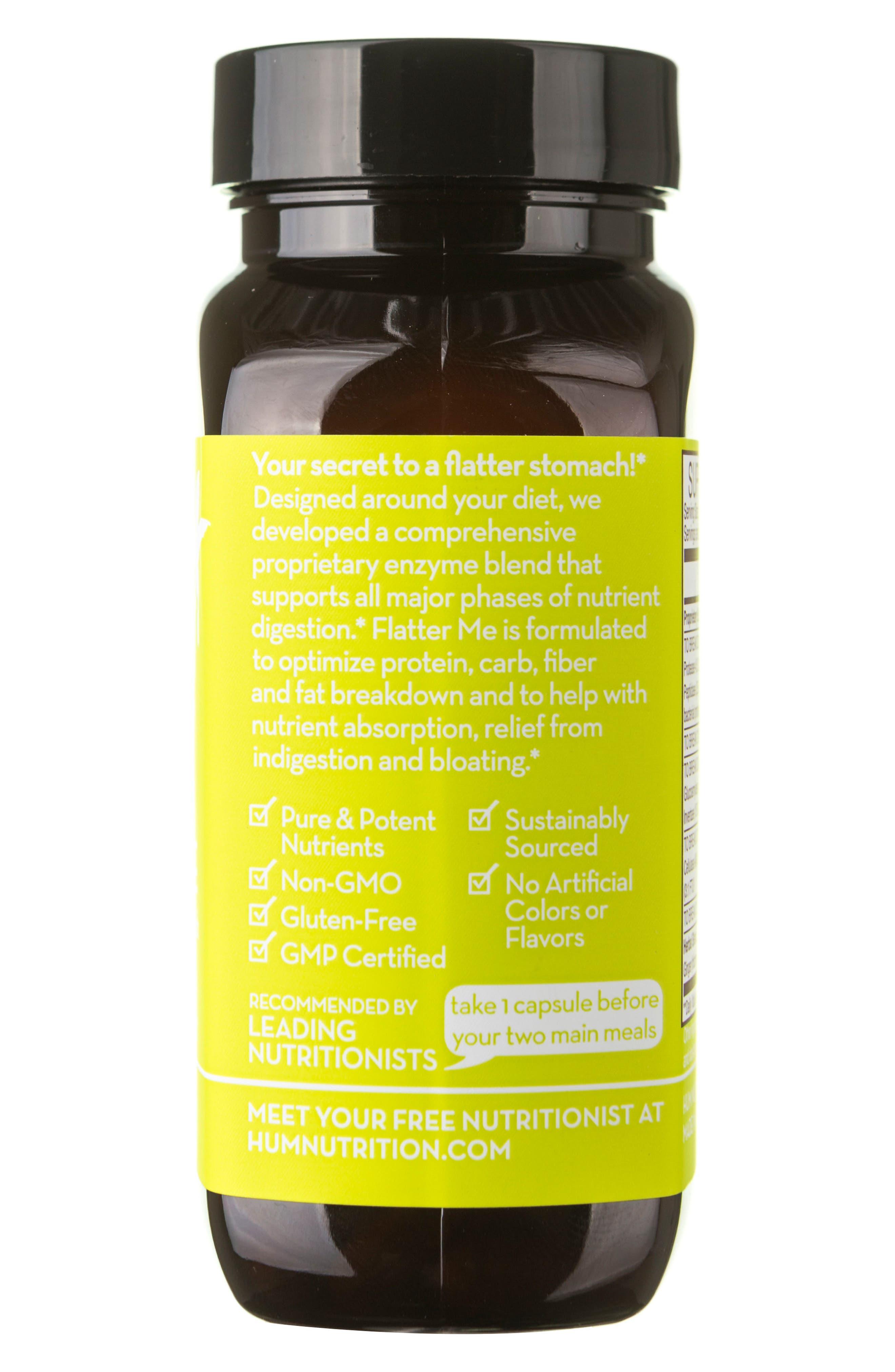 Flatter Me Digestive Enzyme Supplement,                             Alternate thumbnail 6, color,                             NO COLOR