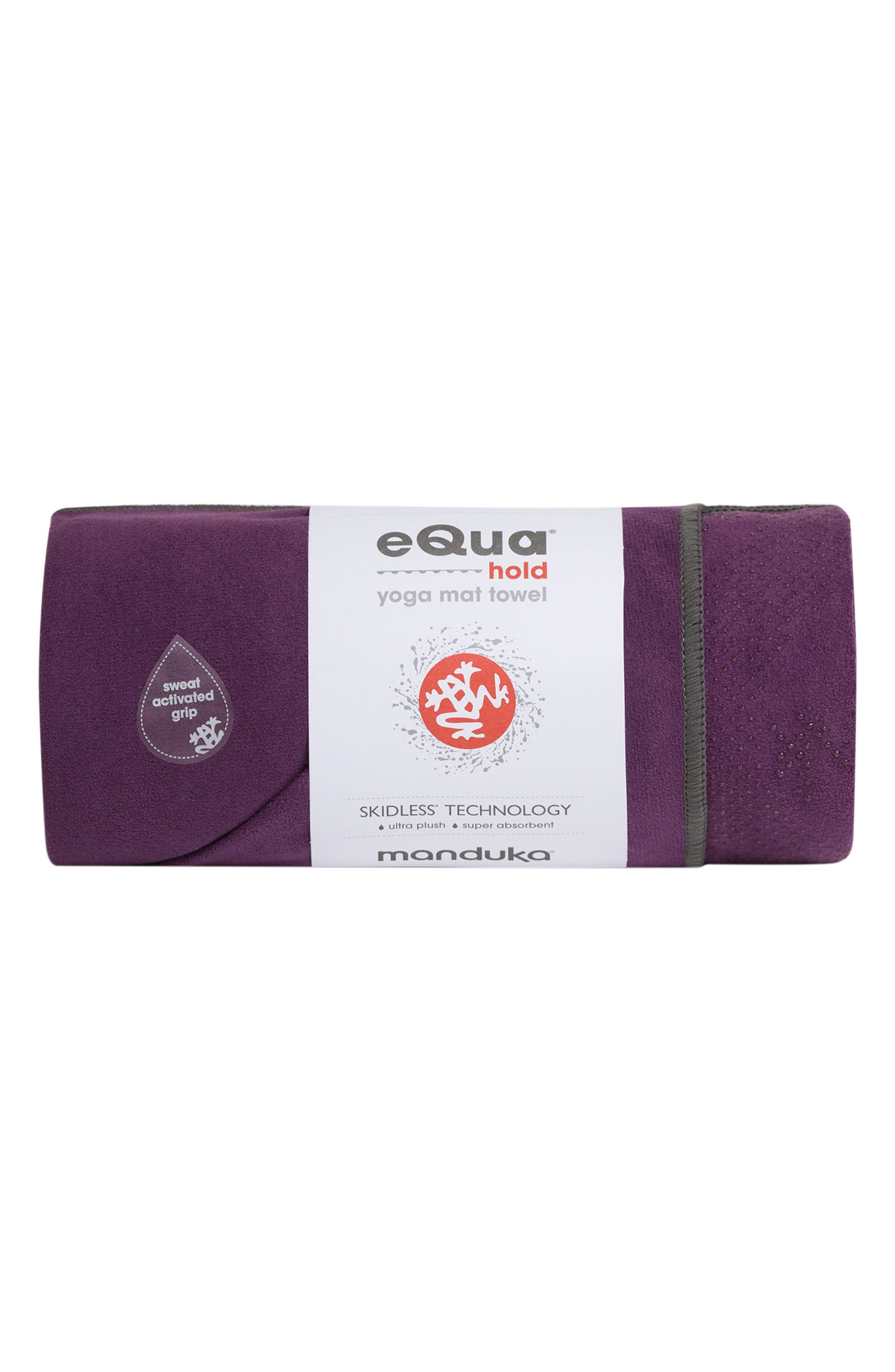 'eQua Hold' Yoga Mat Towel,                             Main thumbnail 2, color,