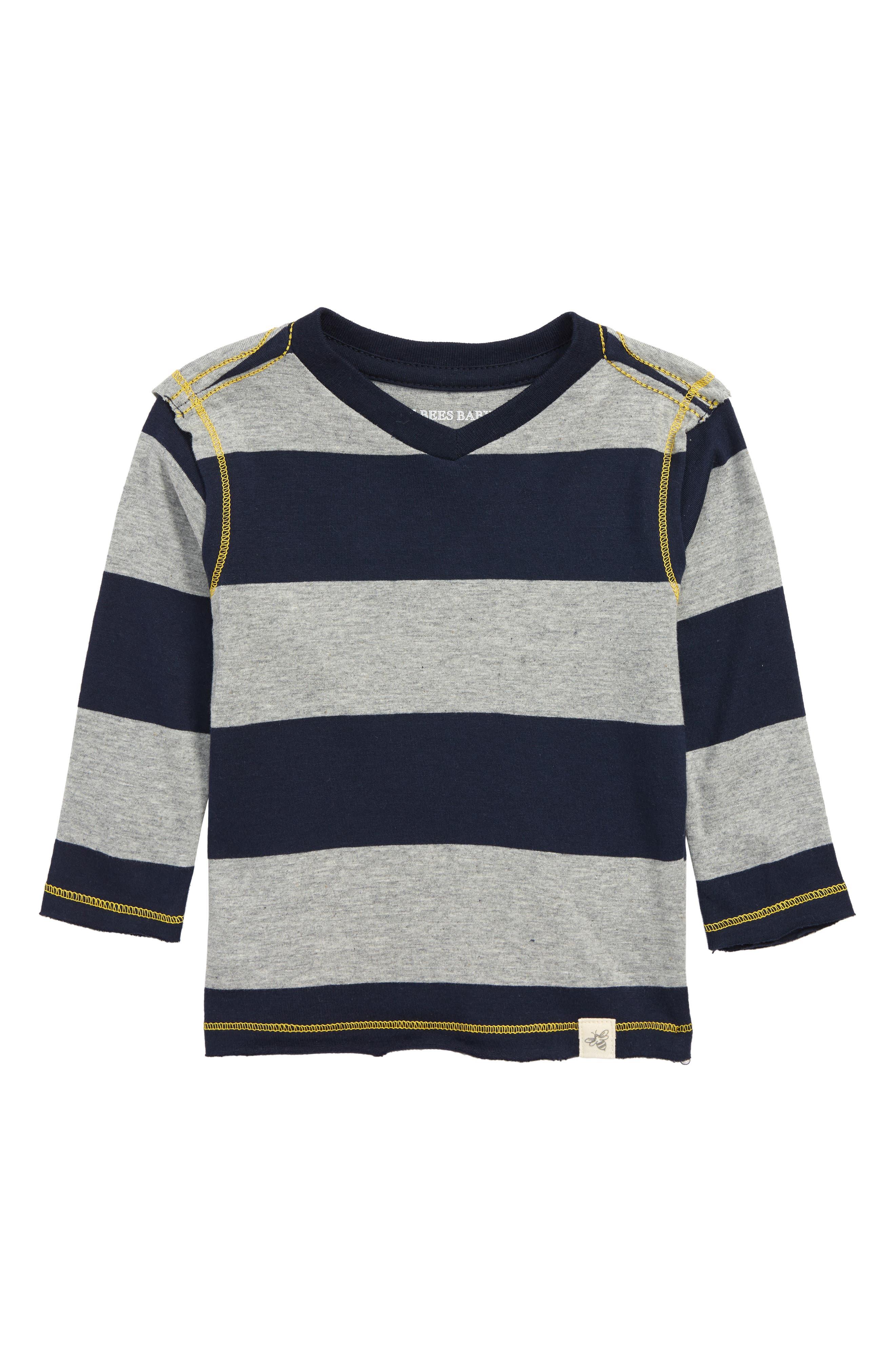 Organic Cotton T-Shirt,                             Main thumbnail 1, color,                             MIDNIGHT