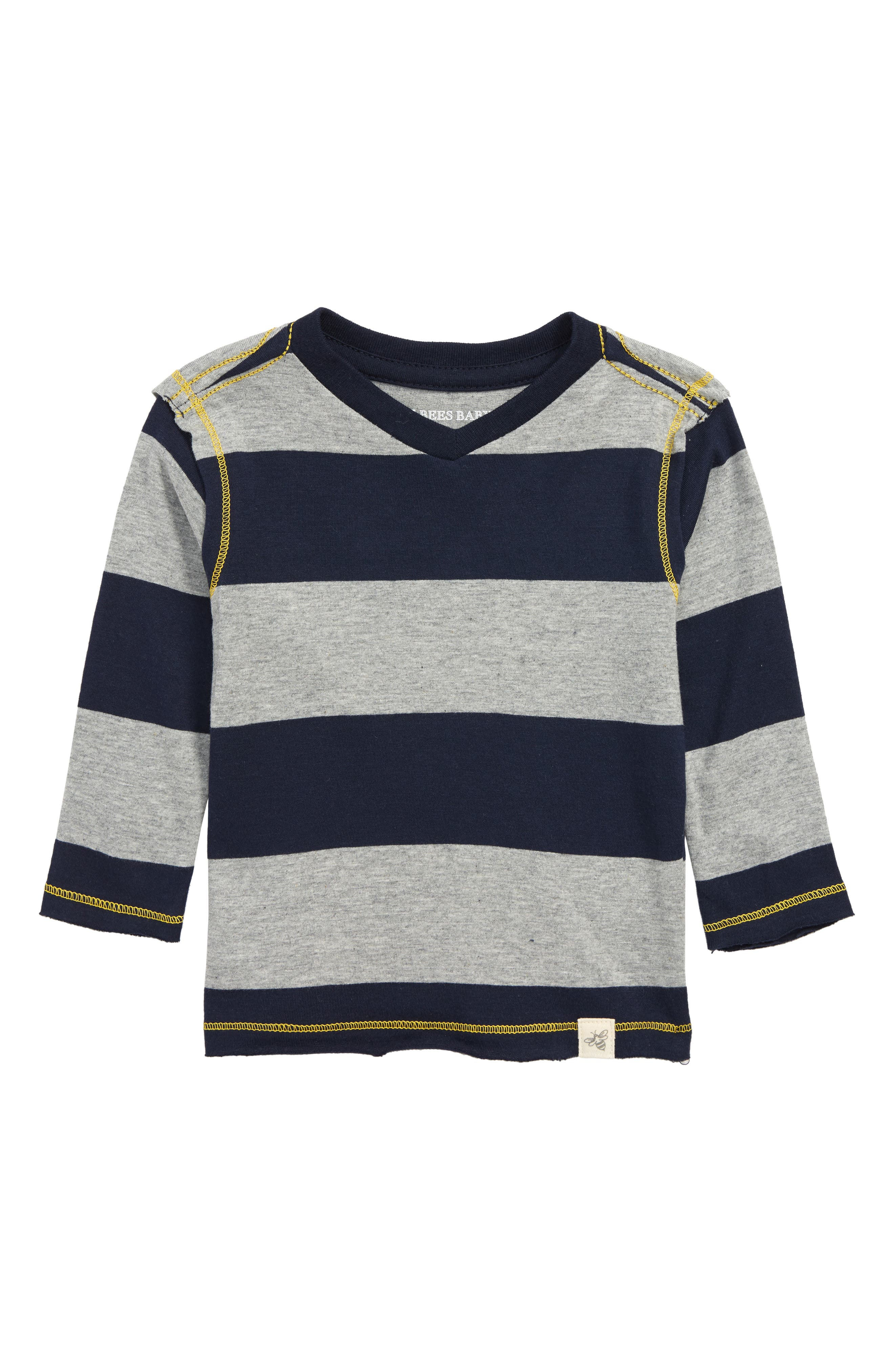 Organic Cotton T-Shirt,                         Main,                         color, MIDNIGHT