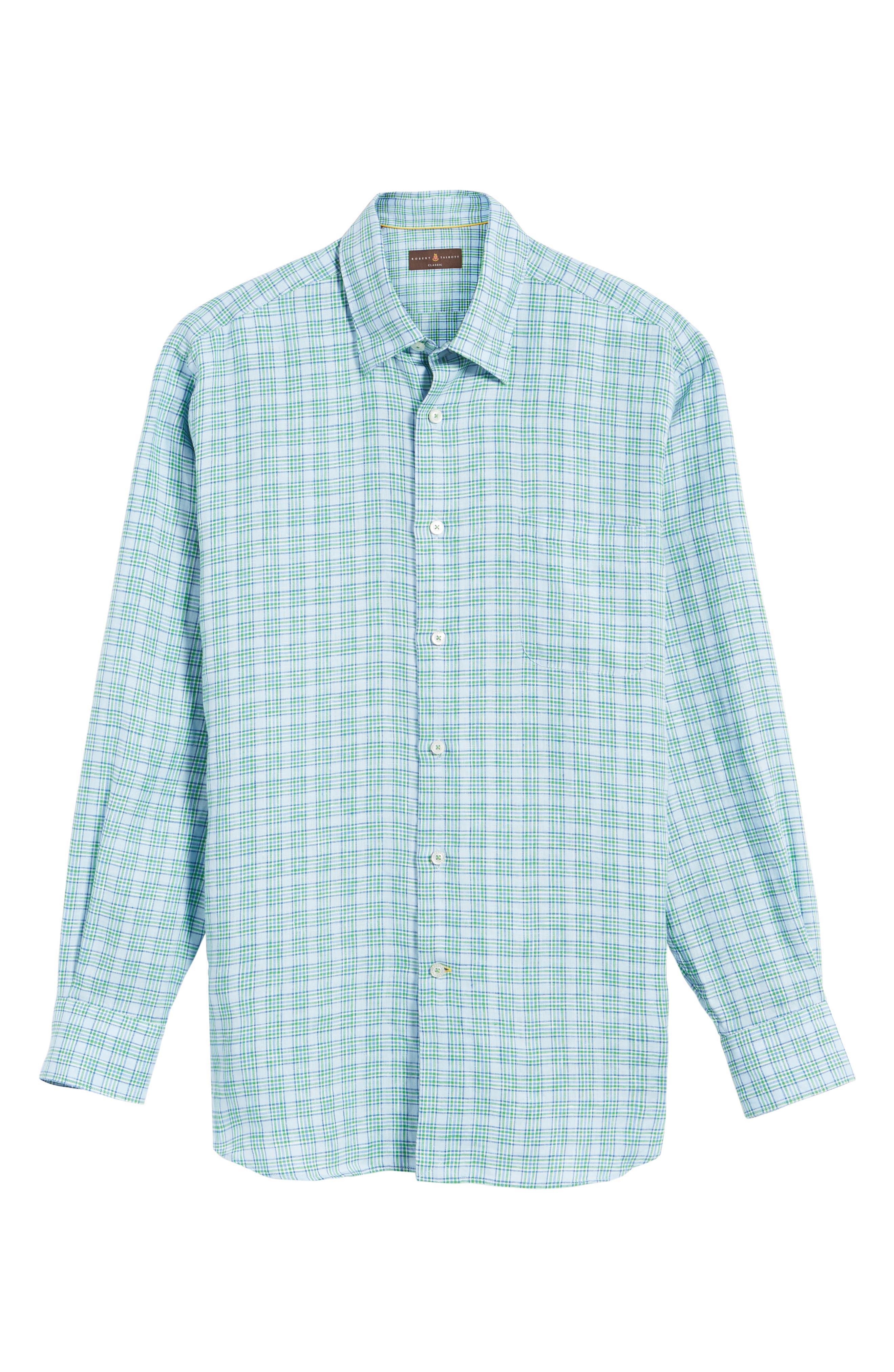 Anderson Classic Fit Sport Shirt,                             Alternate thumbnail 6, color,                             449
