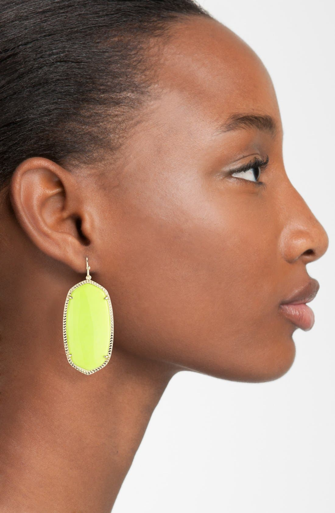 Danielle - Large Oval Statement Earrings,                             Alternate thumbnail 177, color,