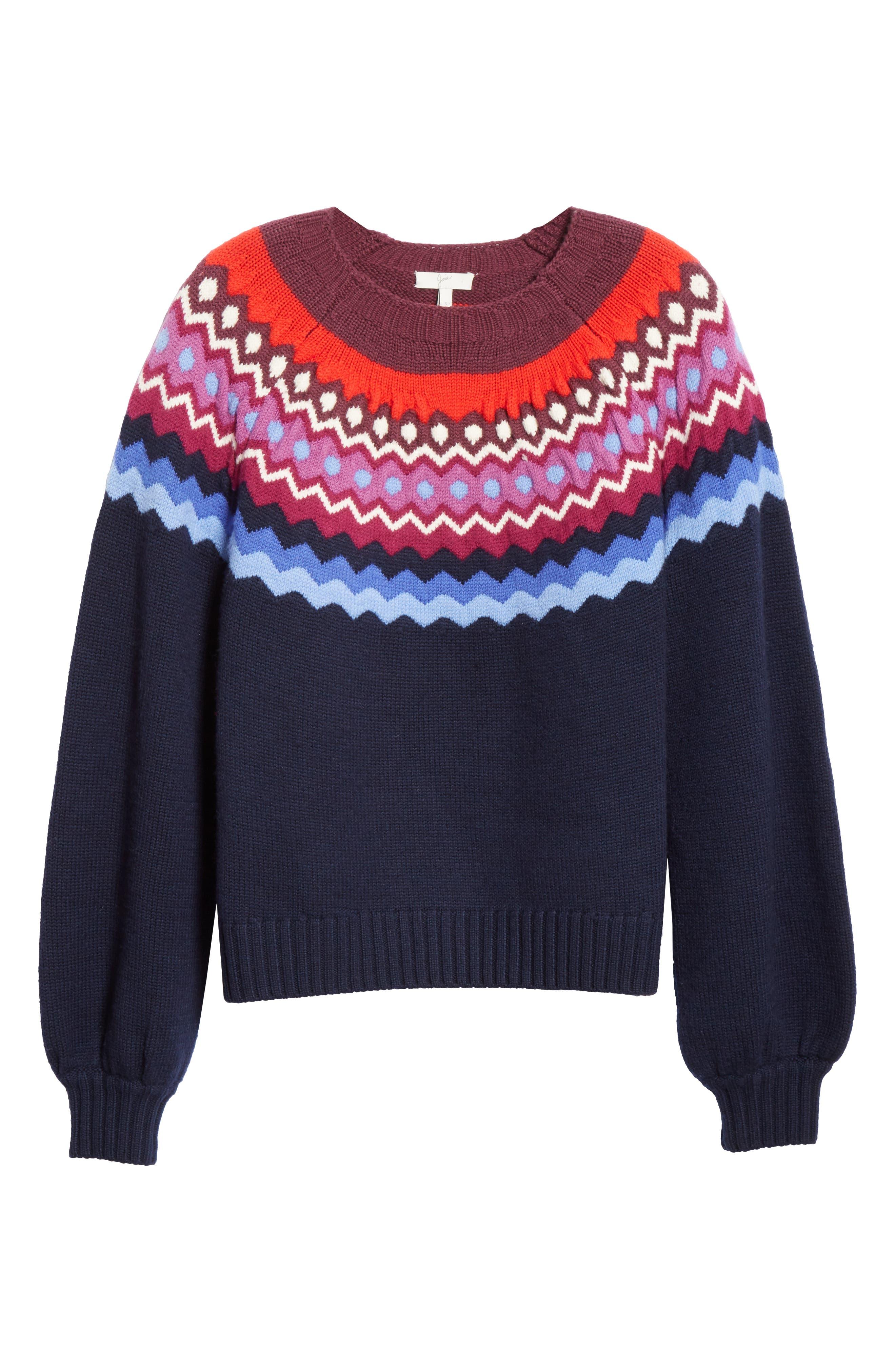 JOIE,                             Karenya Sweater,                             Alternate thumbnail 6, color,                             410