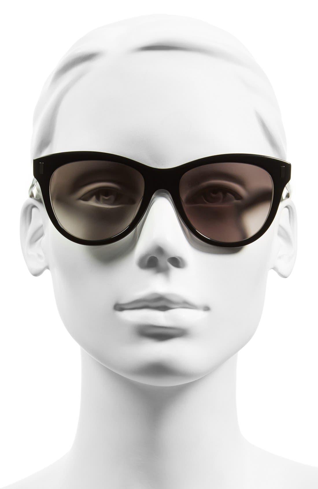 53mm Retro Sunglasses,                             Alternate thumbnail 2, color,                             001