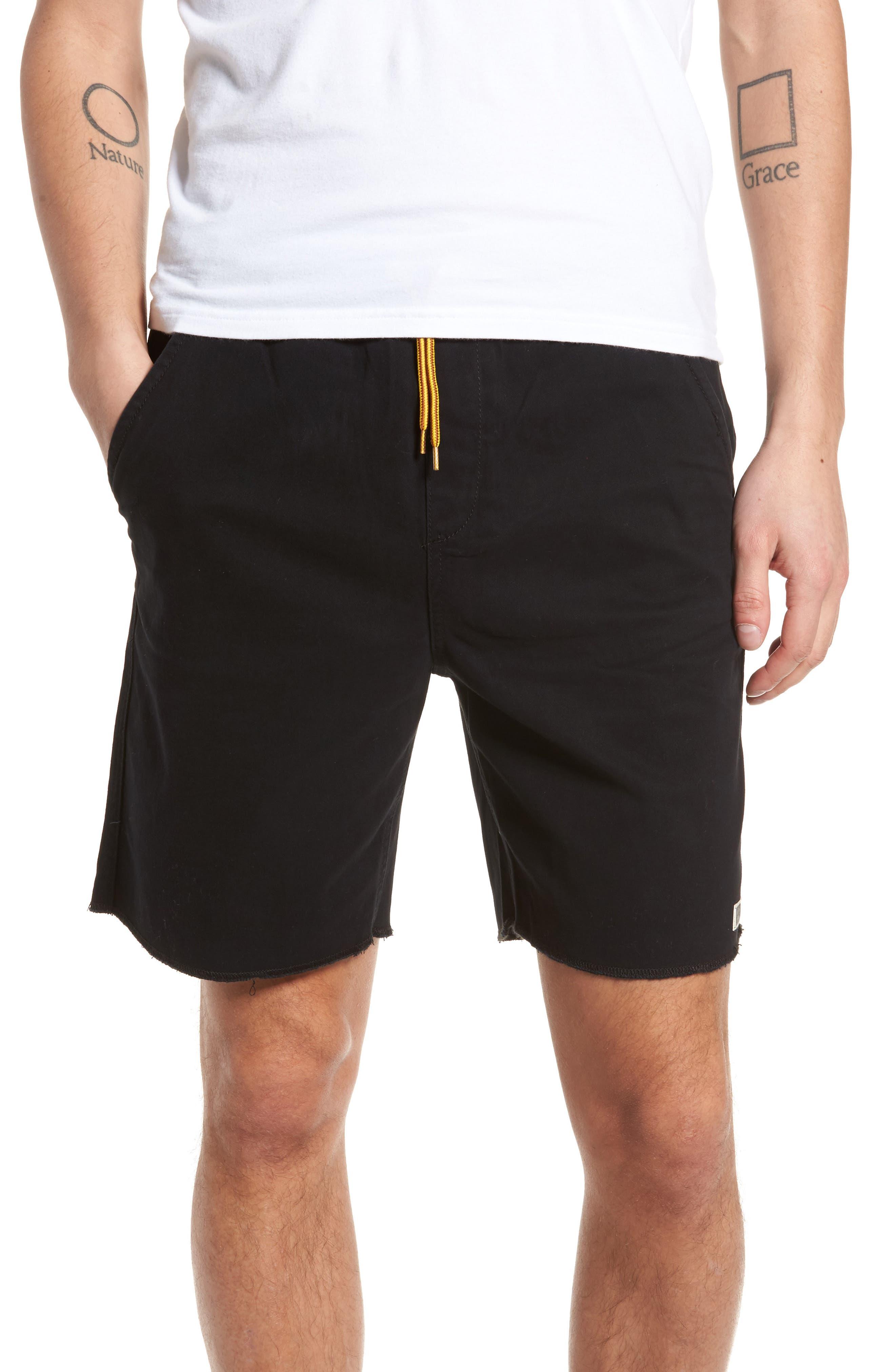 LIRA CLOTHING Weekday Shorts, Main, color, 001