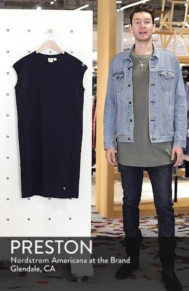 Heavyweight Jersey T-Shirt Dress, sales video thumbnail