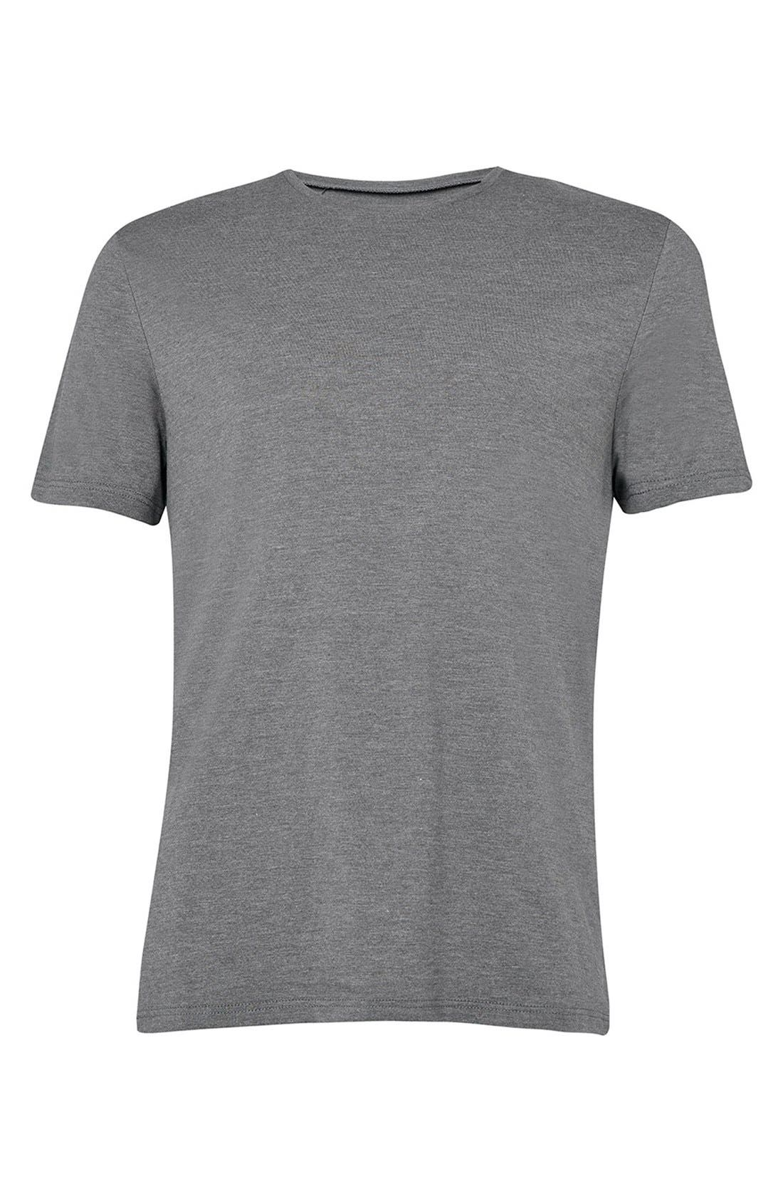 Slim Fit Crewneck T-Shirt,                             Alternate thumbnail 393, color,