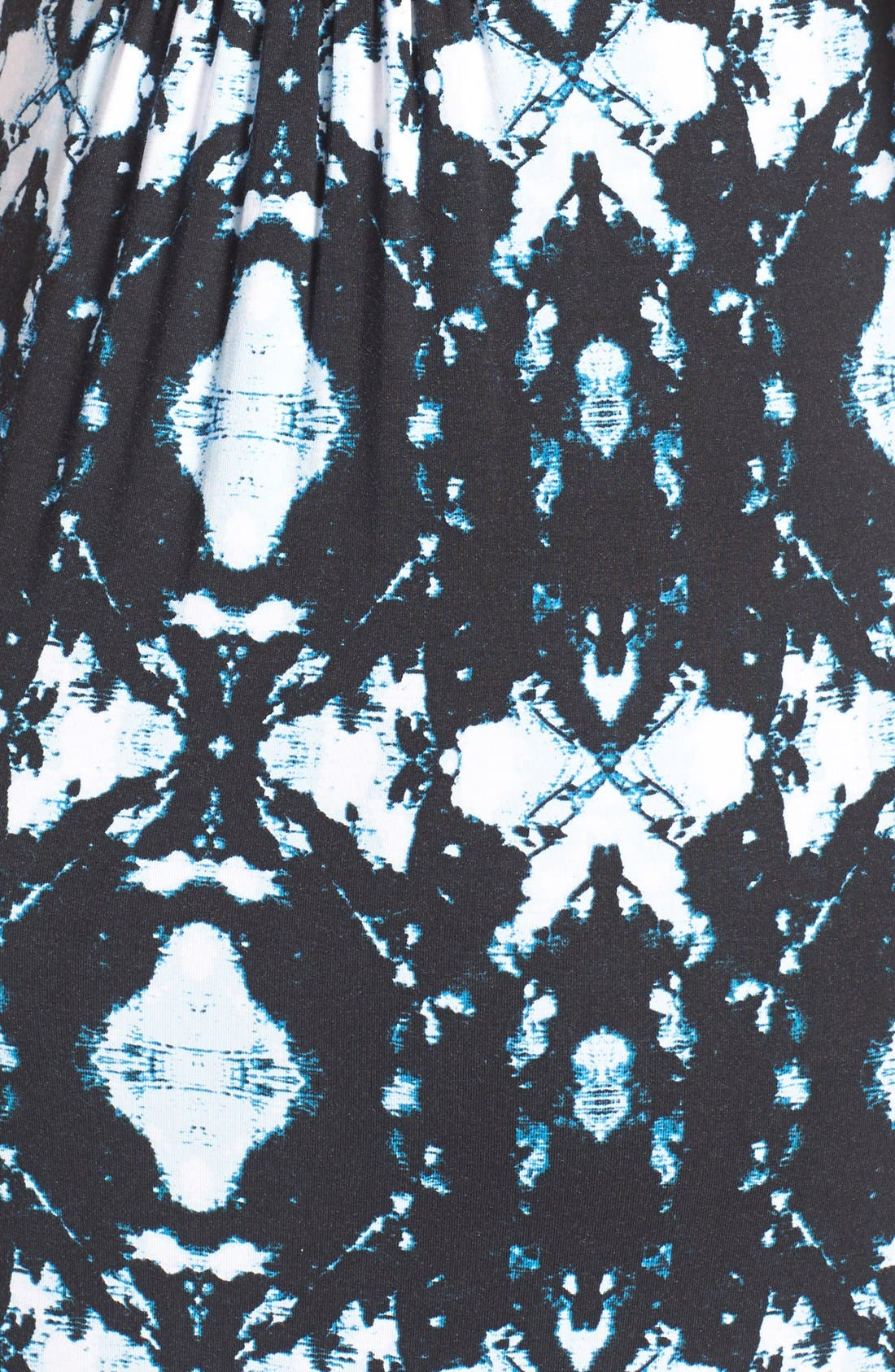 'Callie' Jersey Maxi Maternity Dress,                             Alternate thumbnail 4, color,                             INK BLOTS