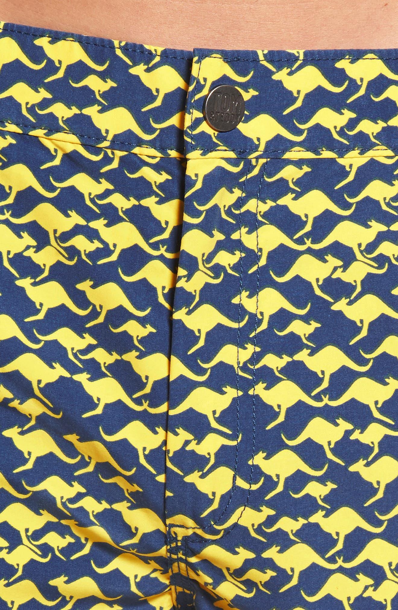 Kangaroo Swim Trunks,                             Alternate thumbnail 4, color,                             410