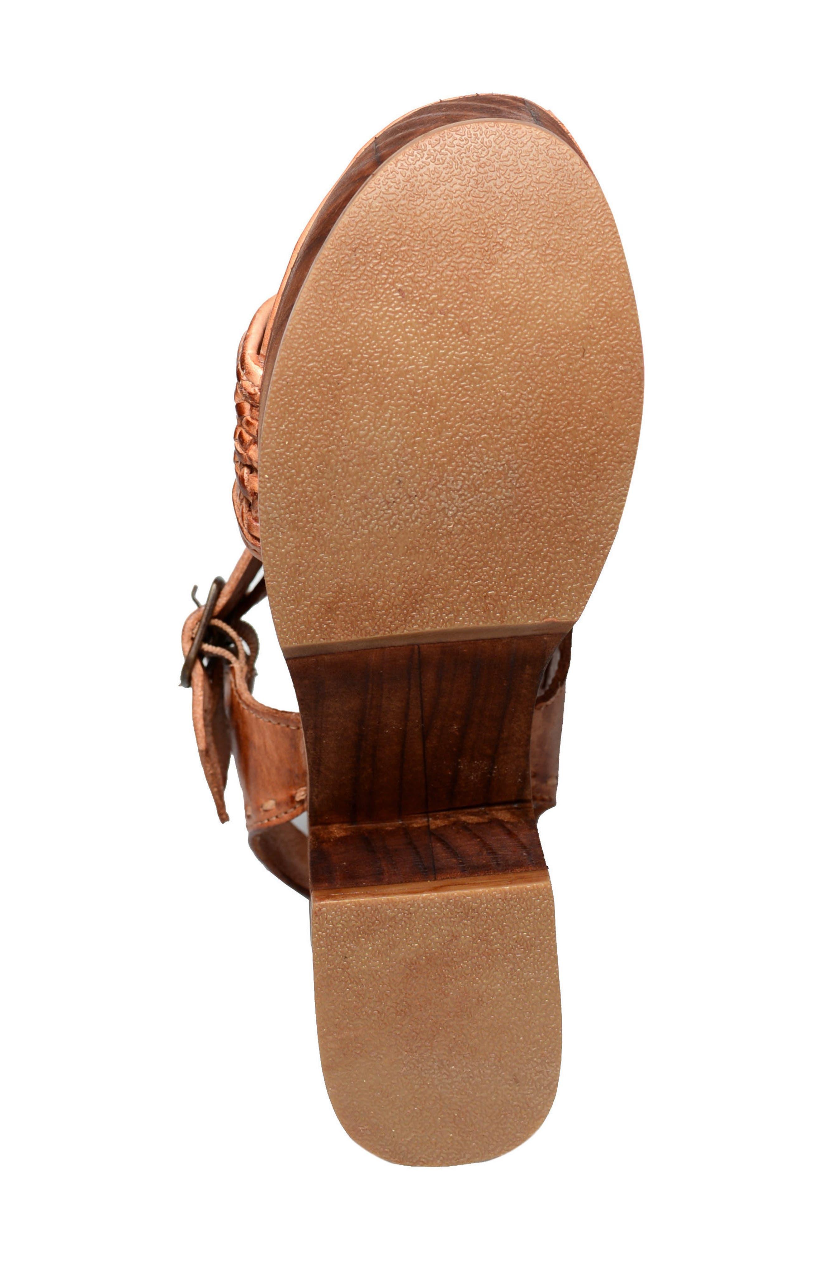 Kenya Platform Sandal,                             Alternate thumbnail 4, color,                             235